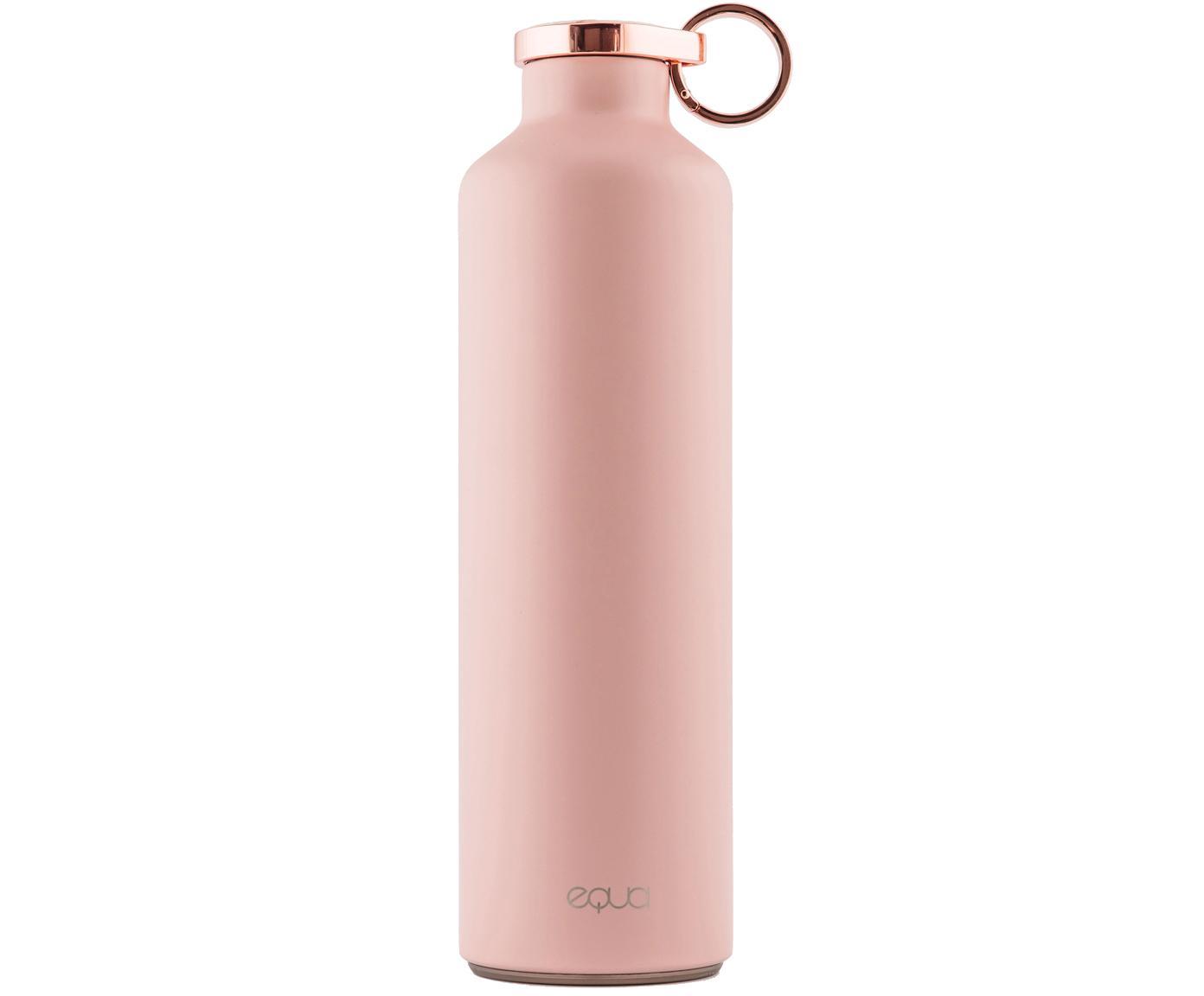Bidon termiczny Basic, Stal nierdzewna, powlekana, Różowy, odcienie miedzi, Ø 8 x W 26 cm