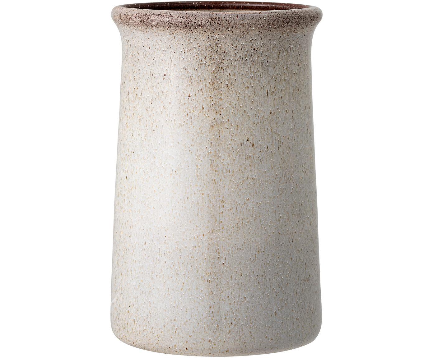 Cubitera Sandrine, Gres, Gris, Ø 15 x Al 23 cm