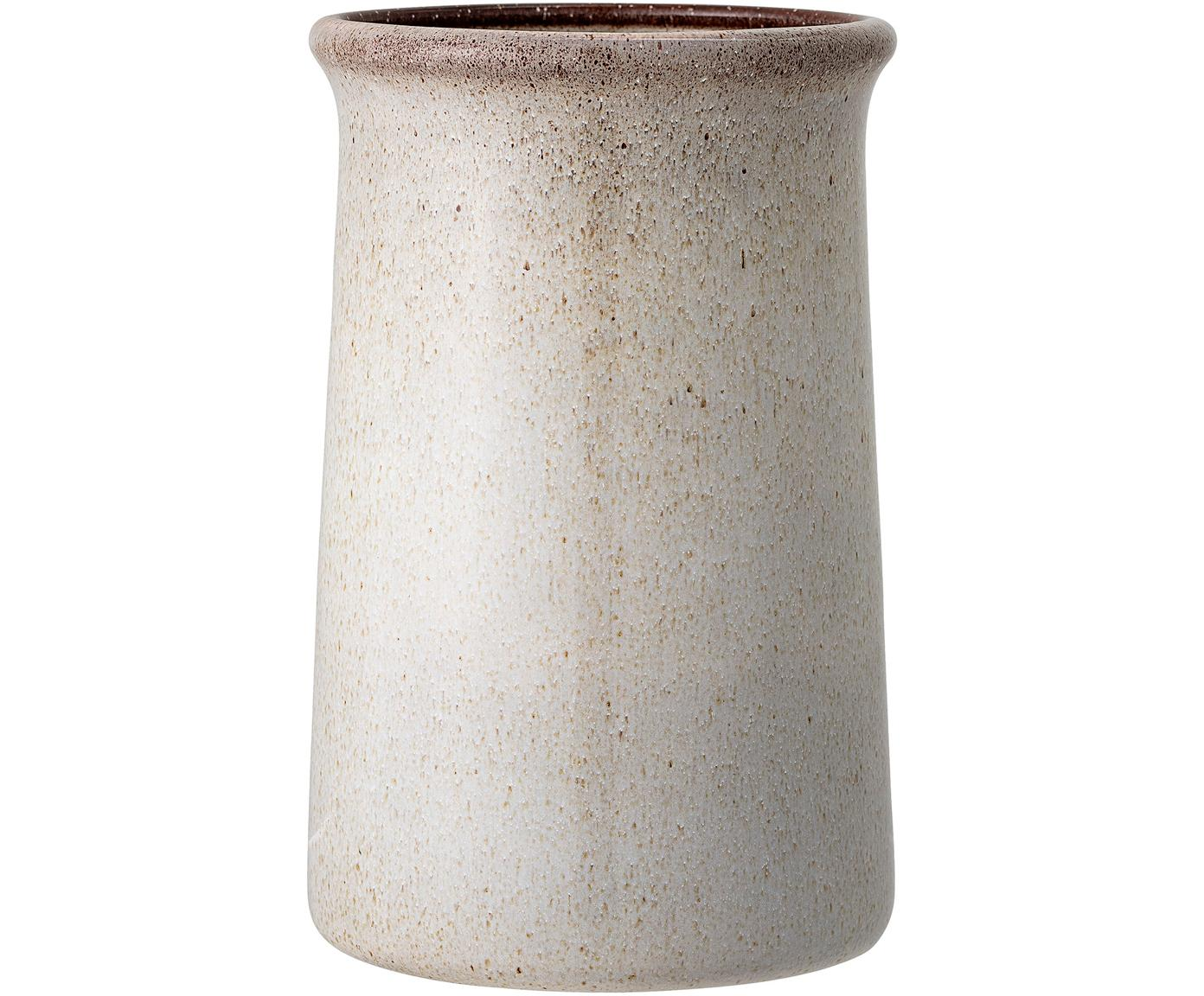 Flessenkoeler Sandrine, Keramiek, Grijs, Ø 15 cm