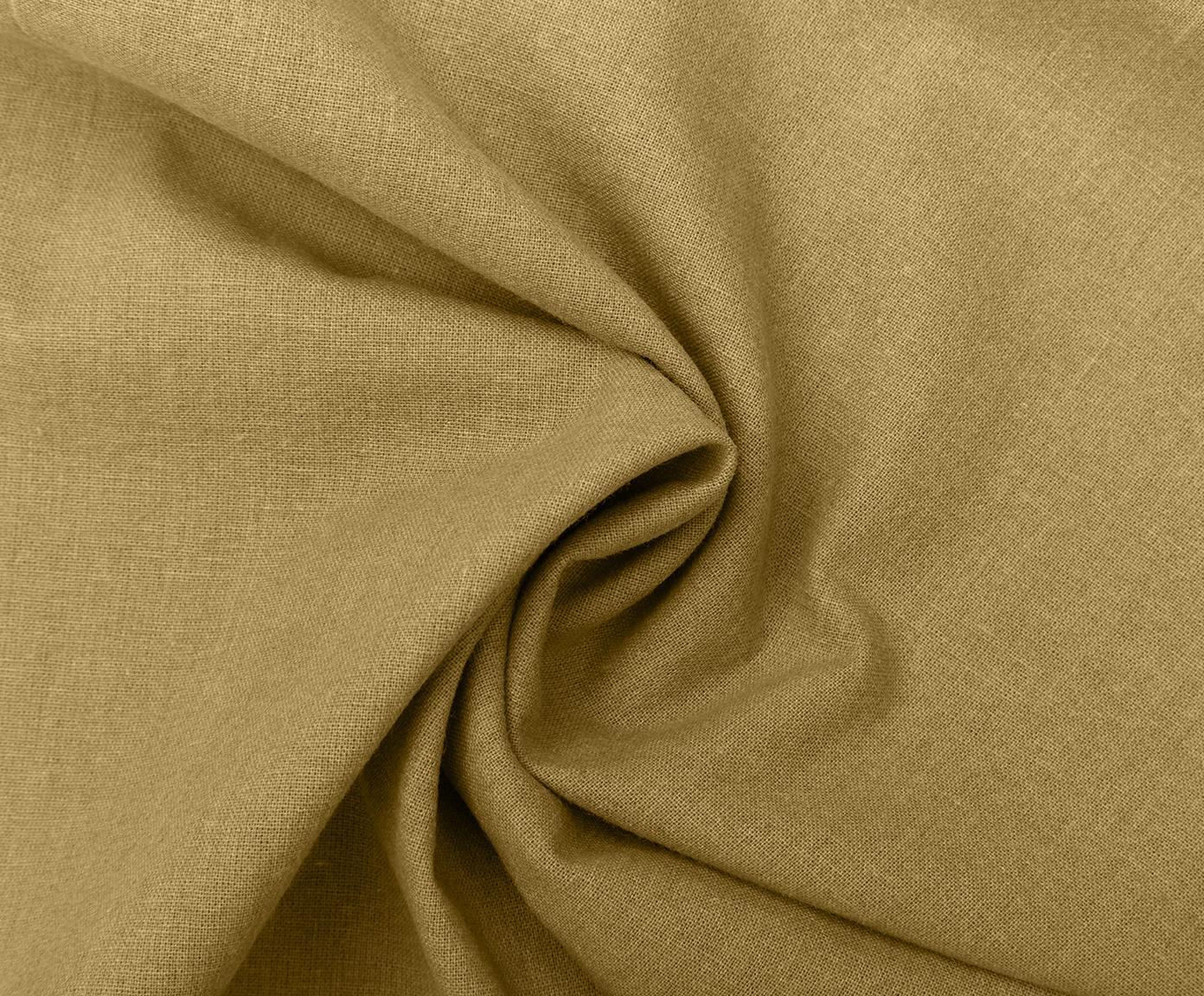 Bavlněné povlečení s efektem soft-washed Arlene, Žlutá