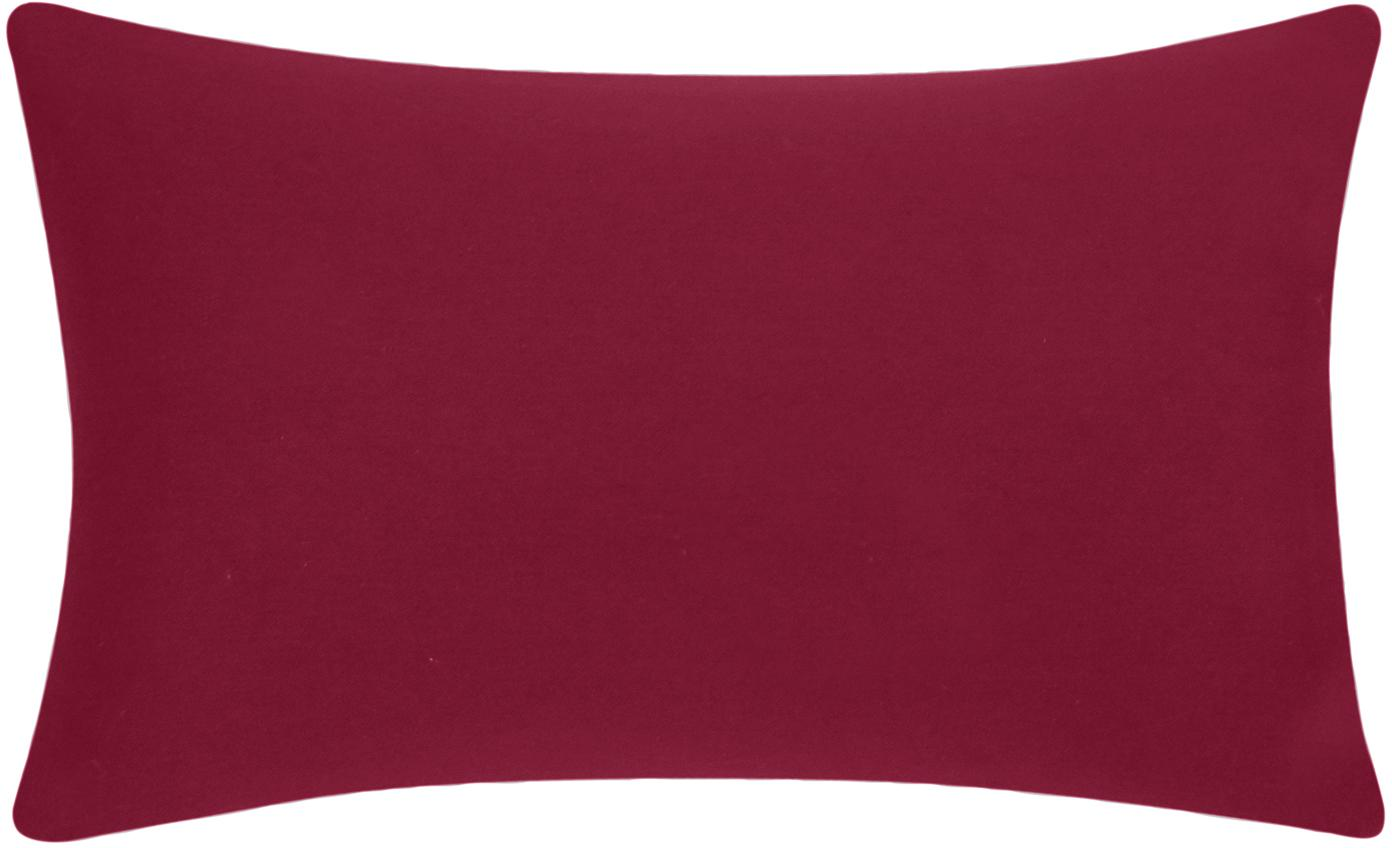 Federa arredo in cotone rosso Mads, 100% cotone, Rosso, Larg. 30 x Lung. 50 cm