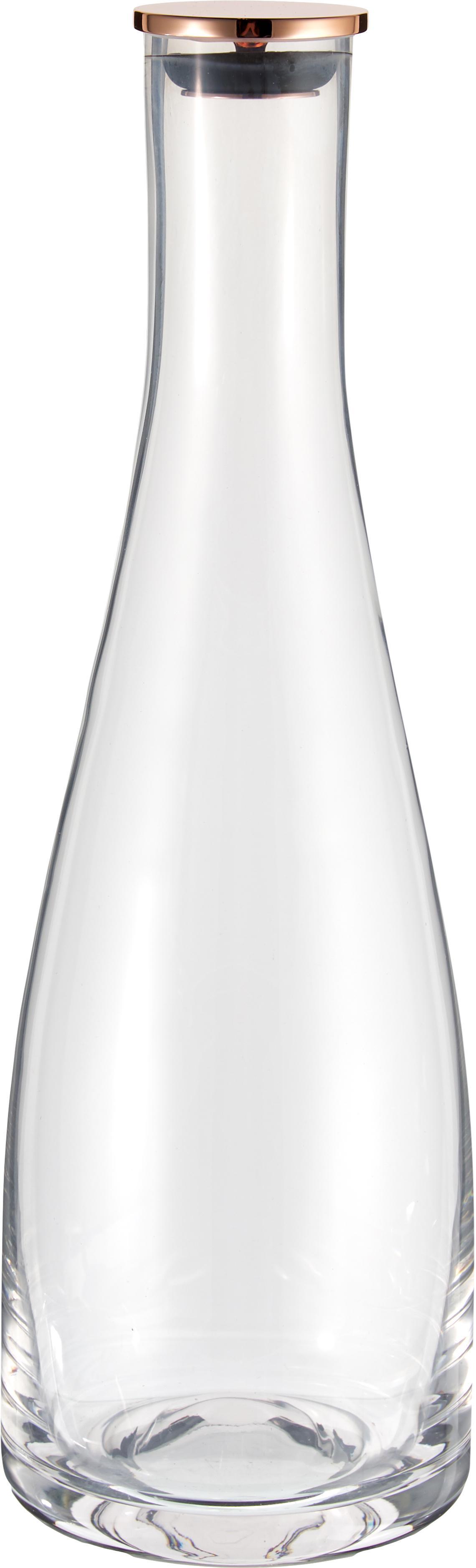 Bottiglia in vetro Flow, Vetro, Trasparente, 1 l