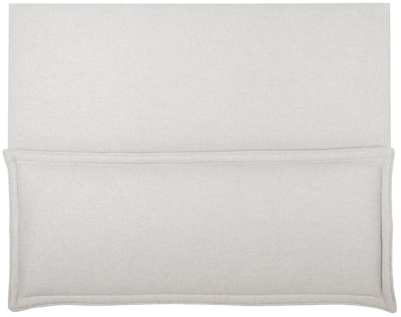 Cabecero Comfort, Estructura: madera de pino, madera co, Tapizado: 100%poliéster Alta resis, Blanco crudo, An 100 x Al 80 cm
