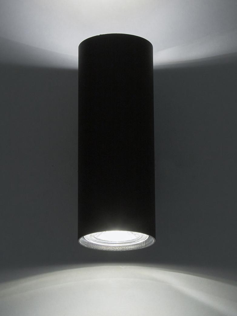 Applique LED Paul, Noir