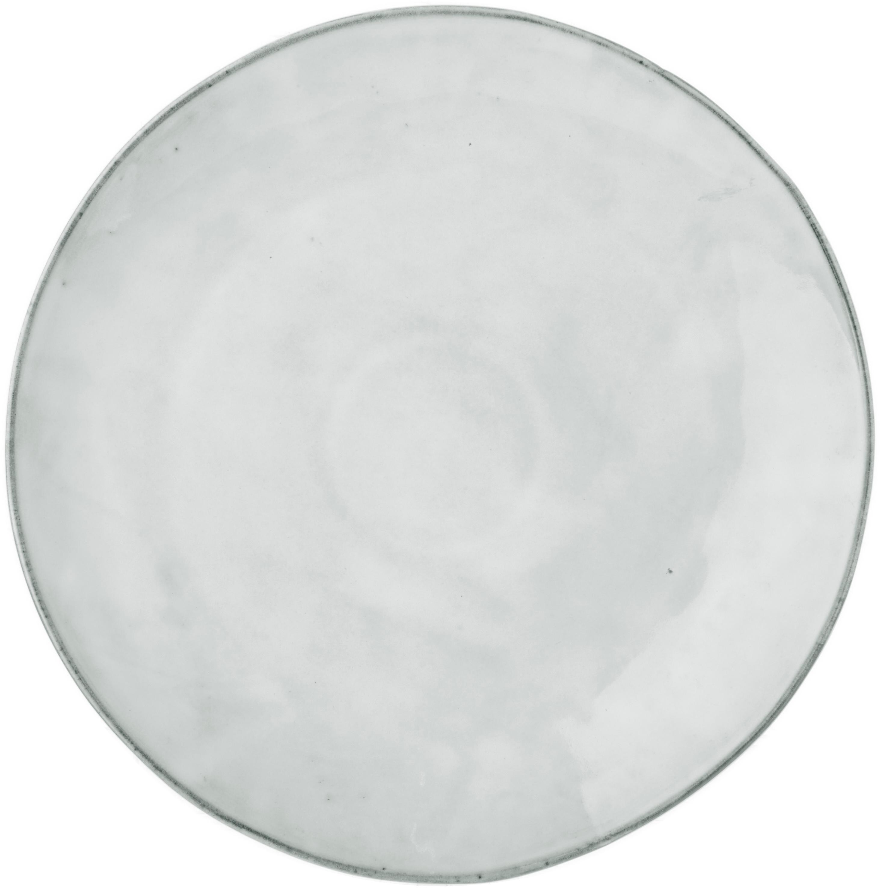 Bajoplatos artesanales Nordic Sand, 4uds., Gres, Arena, Ø 30 cm