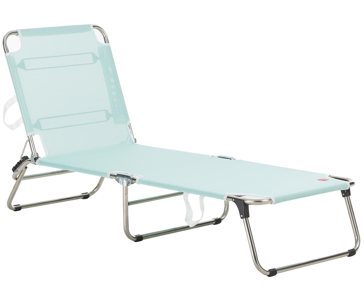 Ligstoel Fiam Amigo, Frame: aluminium, Bekleding: polyester, Frame: aluminium. Bekleding: aquablauw, B 190  x D 58 cm