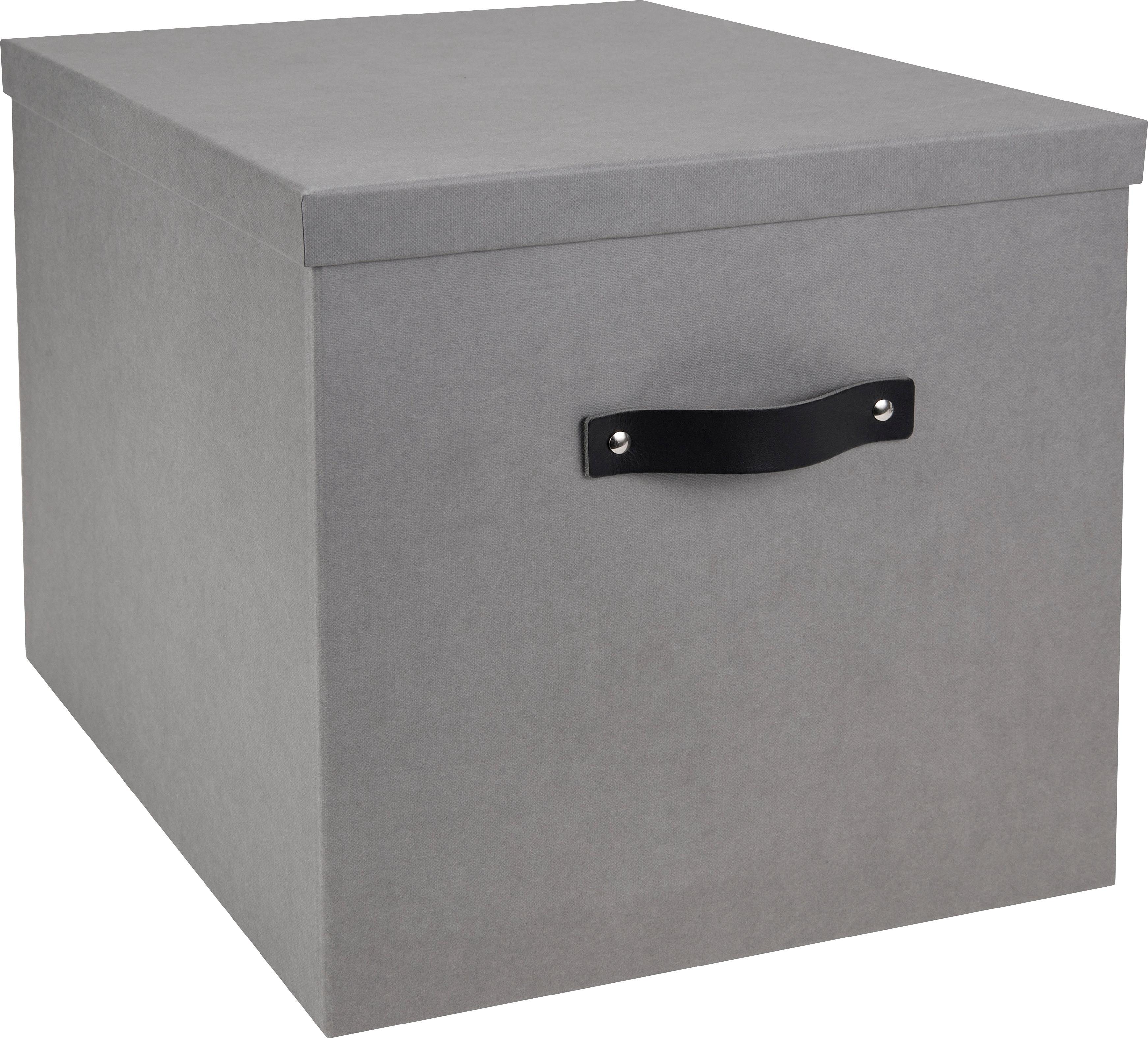 Pudełko do przechowywania Texas, Jasnoszary, S 32 x W 32 cm