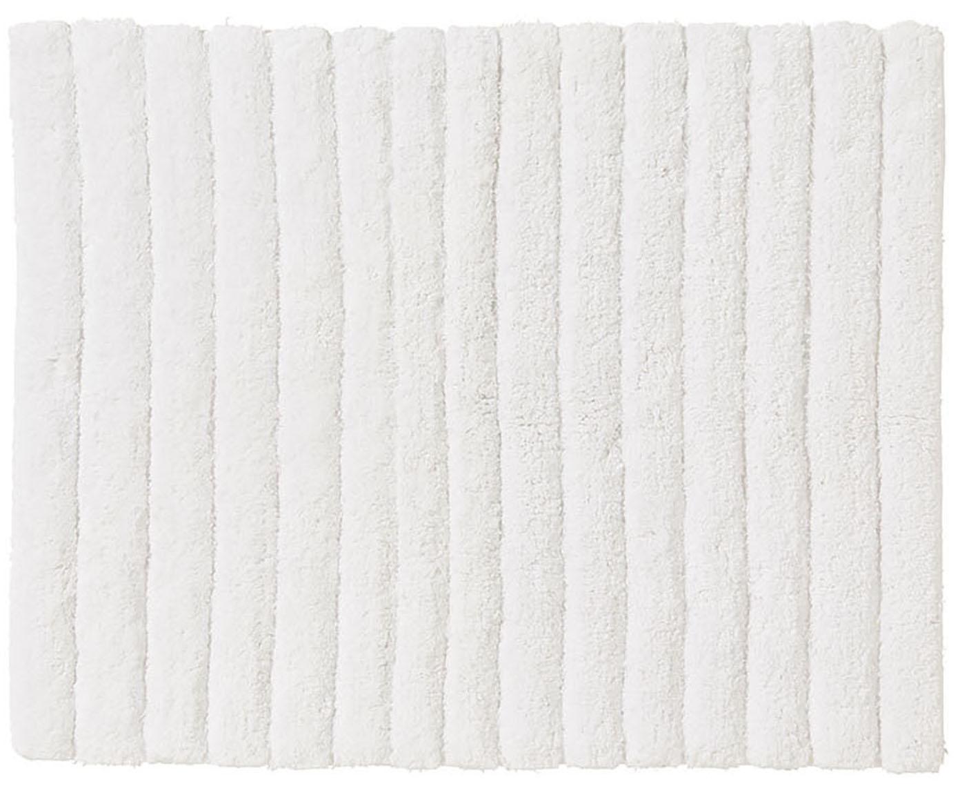 Dywanik łazienkowy Board, Bawełna, wysokagramatura, 1900g/m², Biały, S 50 x D 60 cm
