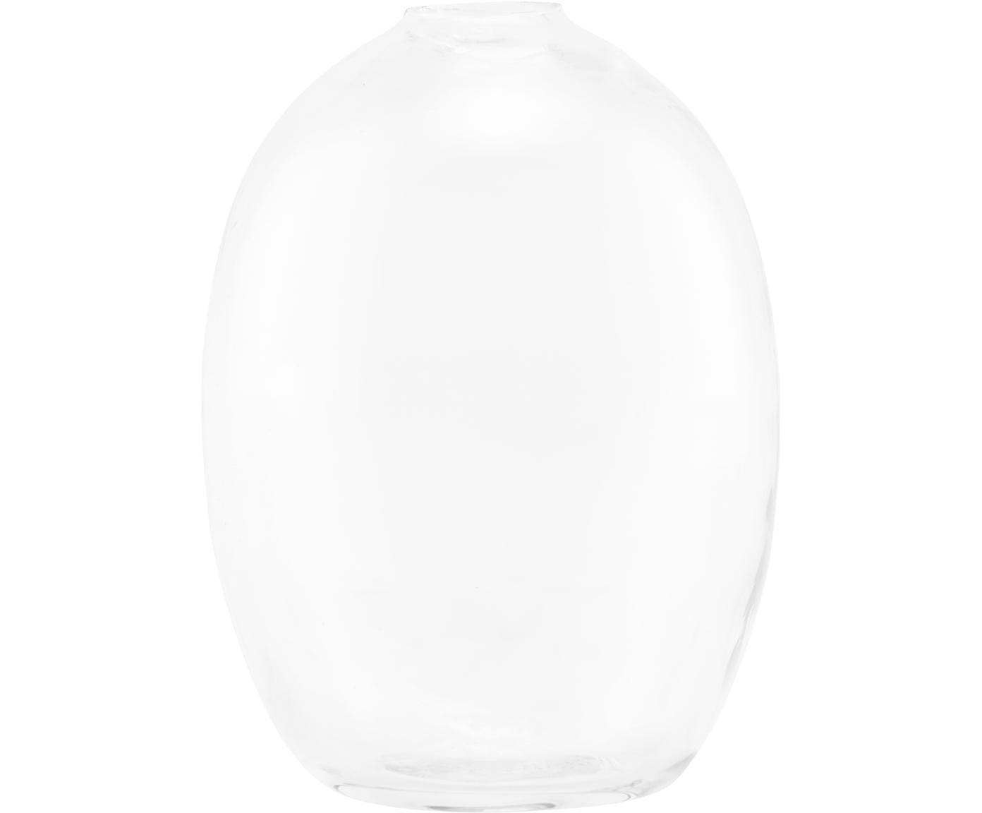 Glas-Vase Sandra, Glas, Transparent, Ø 7 x H 10 cm