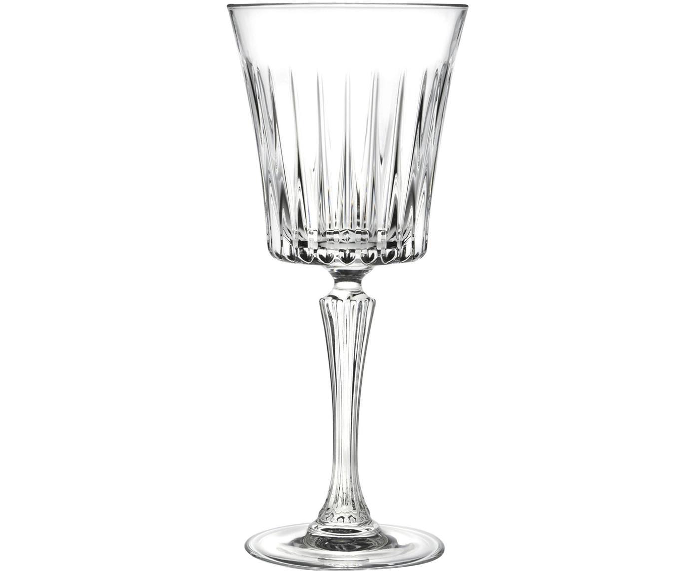 Kryształowy kieliszek do czerwonego wina Timeless, 6 szt., Szkło kryształowe, Transparentny, Ø 9 x 21 cm