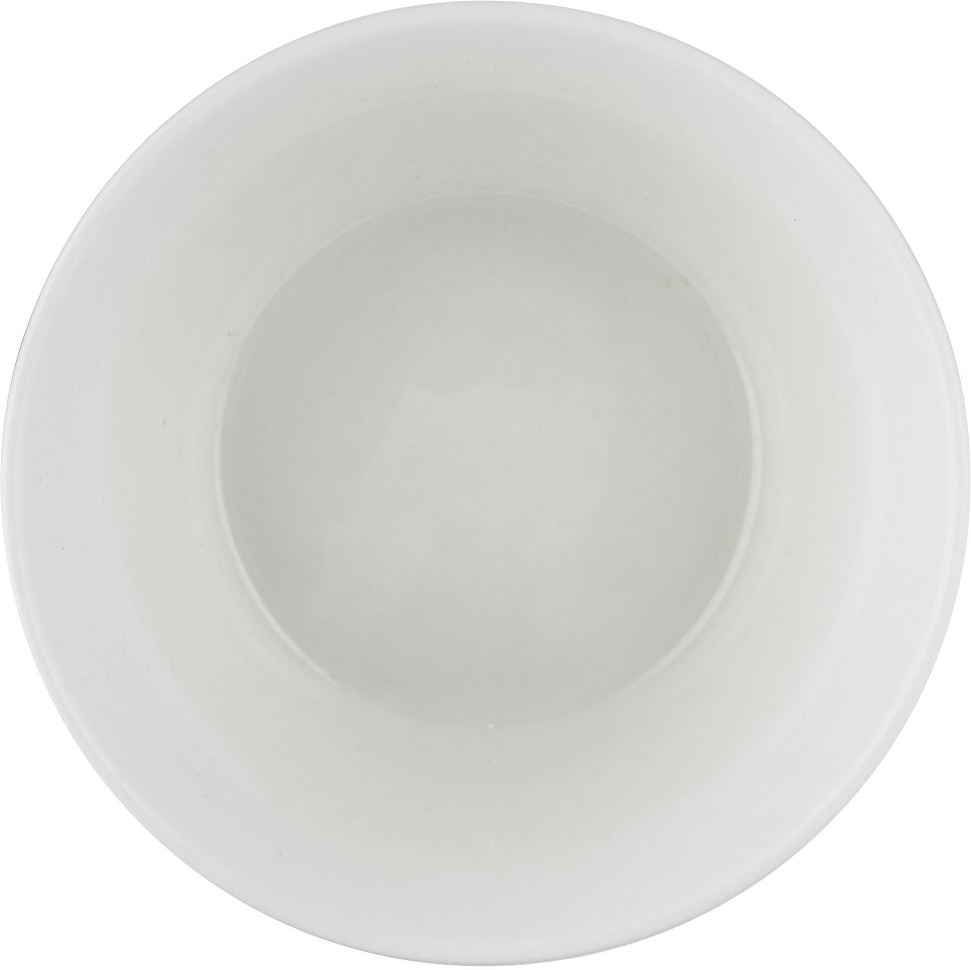 Ciotola con decoro a righe Pluto Loft 4 pz, Porcellana, Nero, bianco, dorato, Ø 10 x Alt. 6 cm