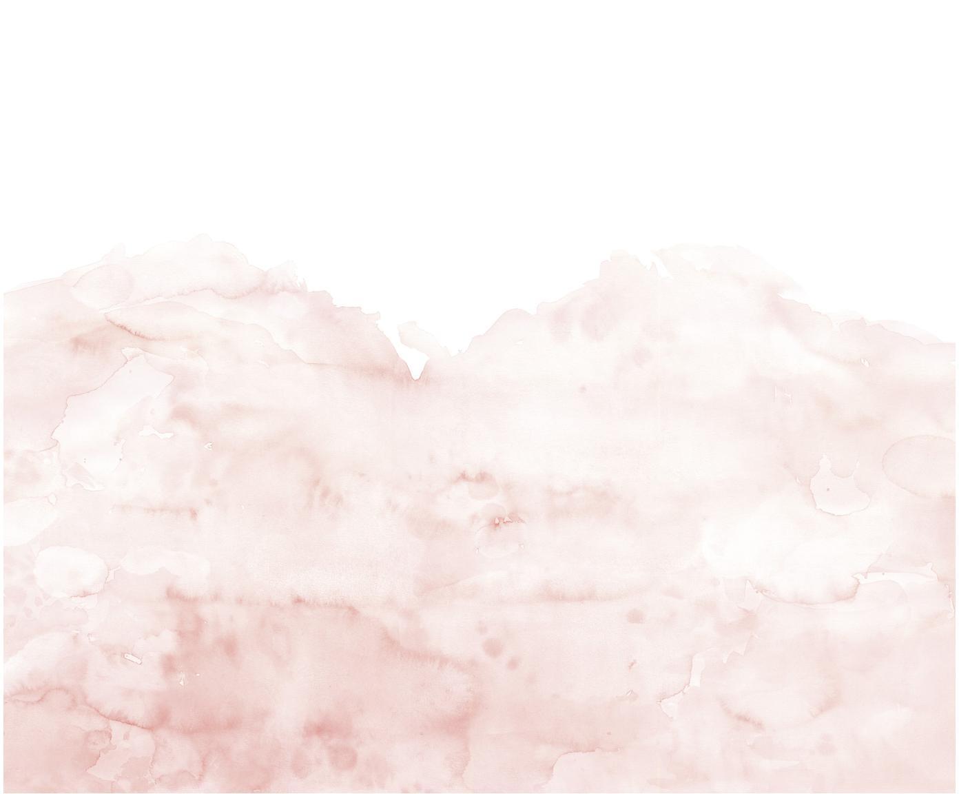 Fototapete Pink Clouds, Vlies, Rosa, Weiss, 372 x 280 cm