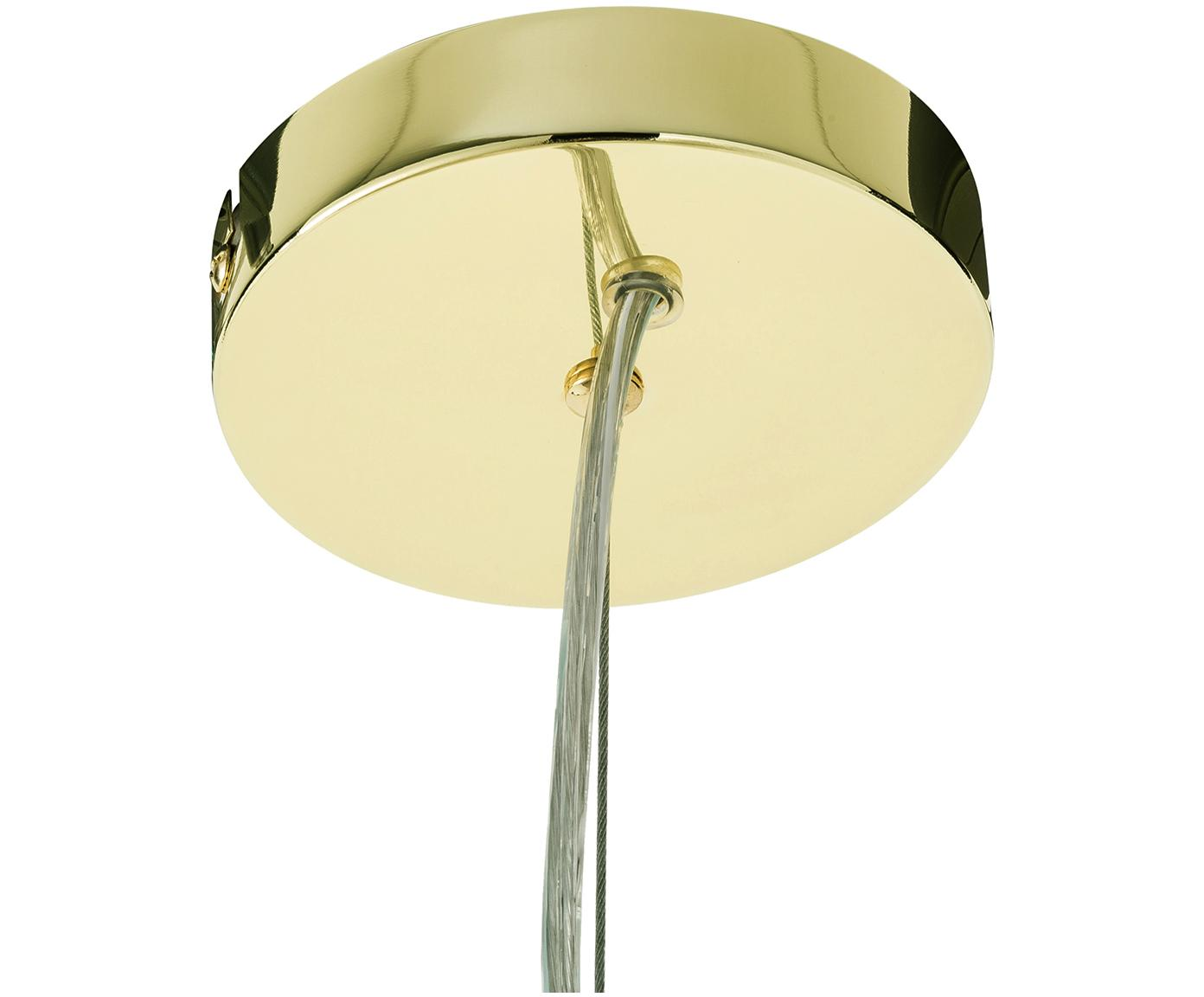 Lampa wisząca Grover, Odcienie złotego, Ø 70 x W 56 cm
