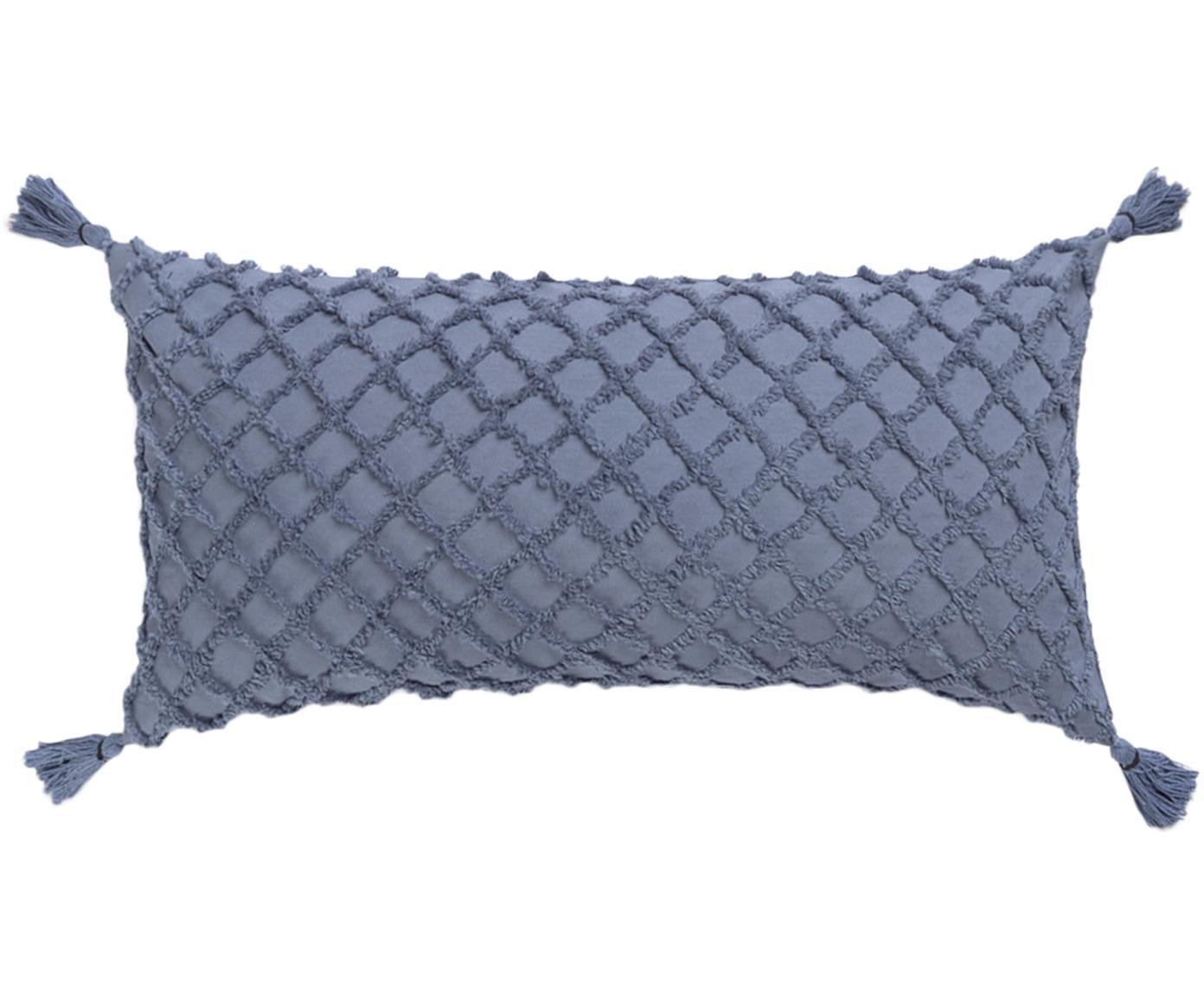 Poszewka na poduszkę Royal, Bawełna, Niebieski, S 30 x D 60 cm