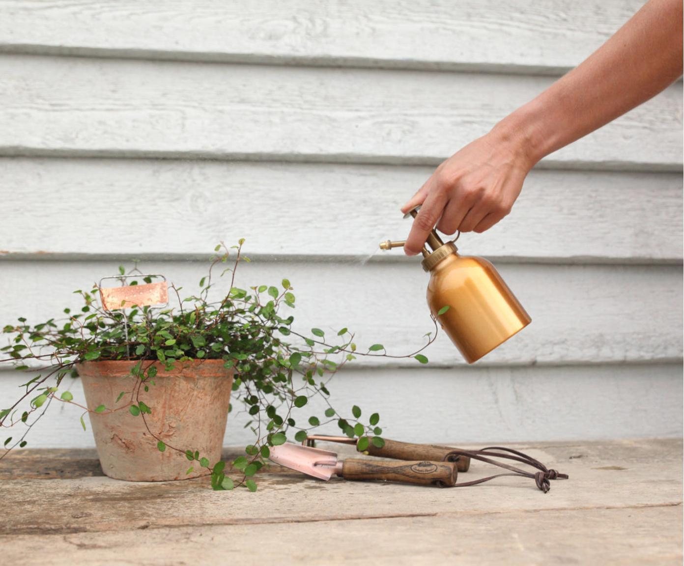 Set da giardinaggio Gardenia 2 pz, Legno, metallo, Legno, rame, Diverse dimensioni