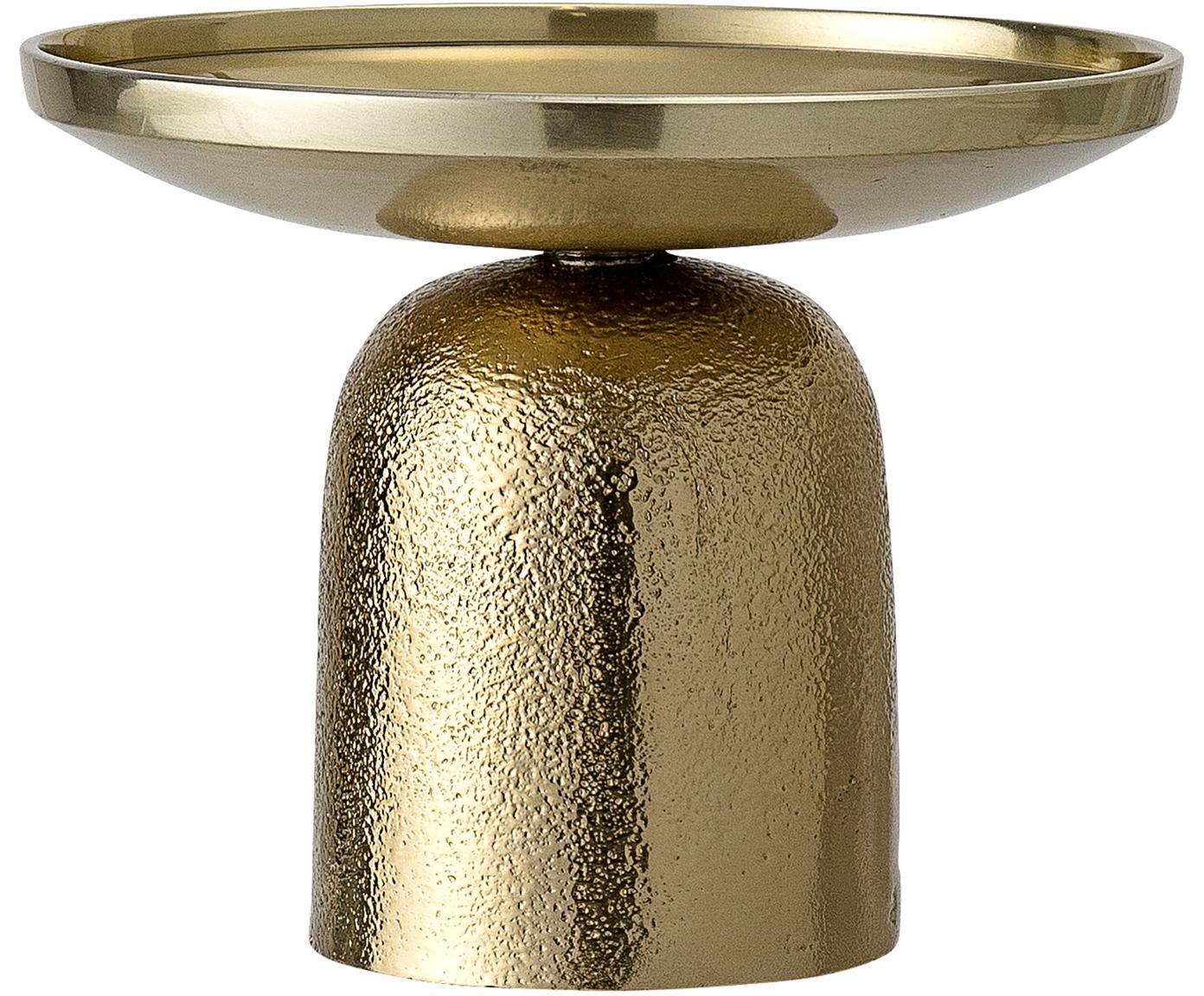 Kerzenhalter Lasse, Aluminium, beschichtet, Messingfarben, Ø 13 x H 10 cm