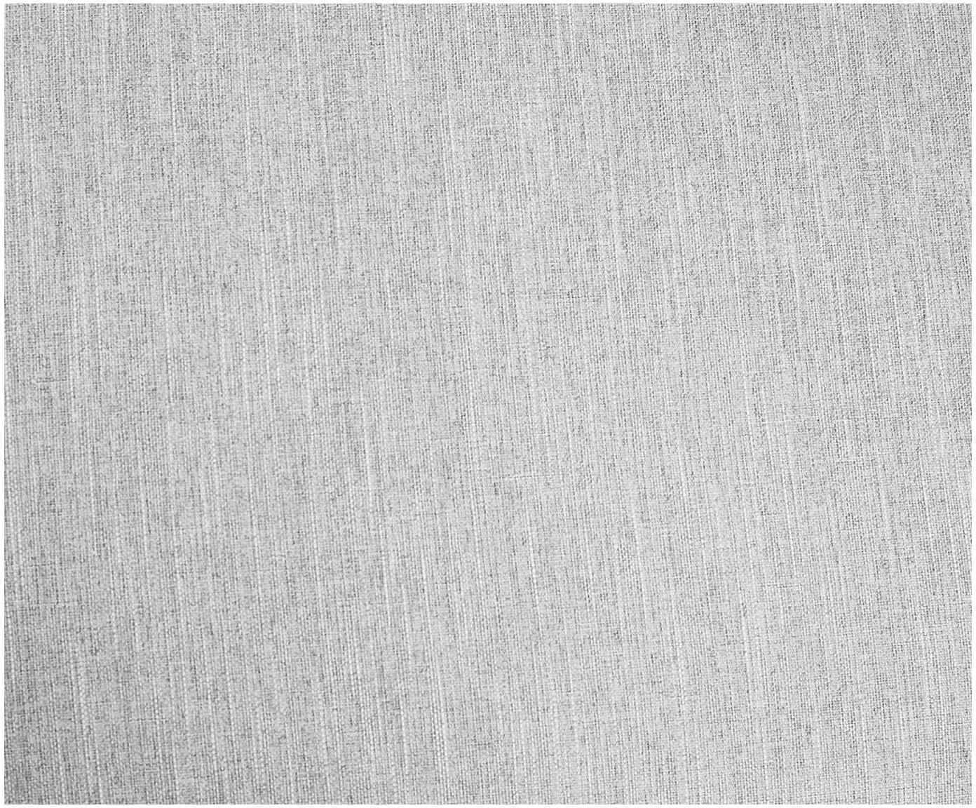 Divano 2 posti in tessuto grigio chiaro Melva, Rivestimento: poliestere 35.000 cicli d, Struttura: legno di pino massiccio, , Piedini: legno di pino, Tessuto grigio chiaro, Larg. 200 x Prof. 101 cm