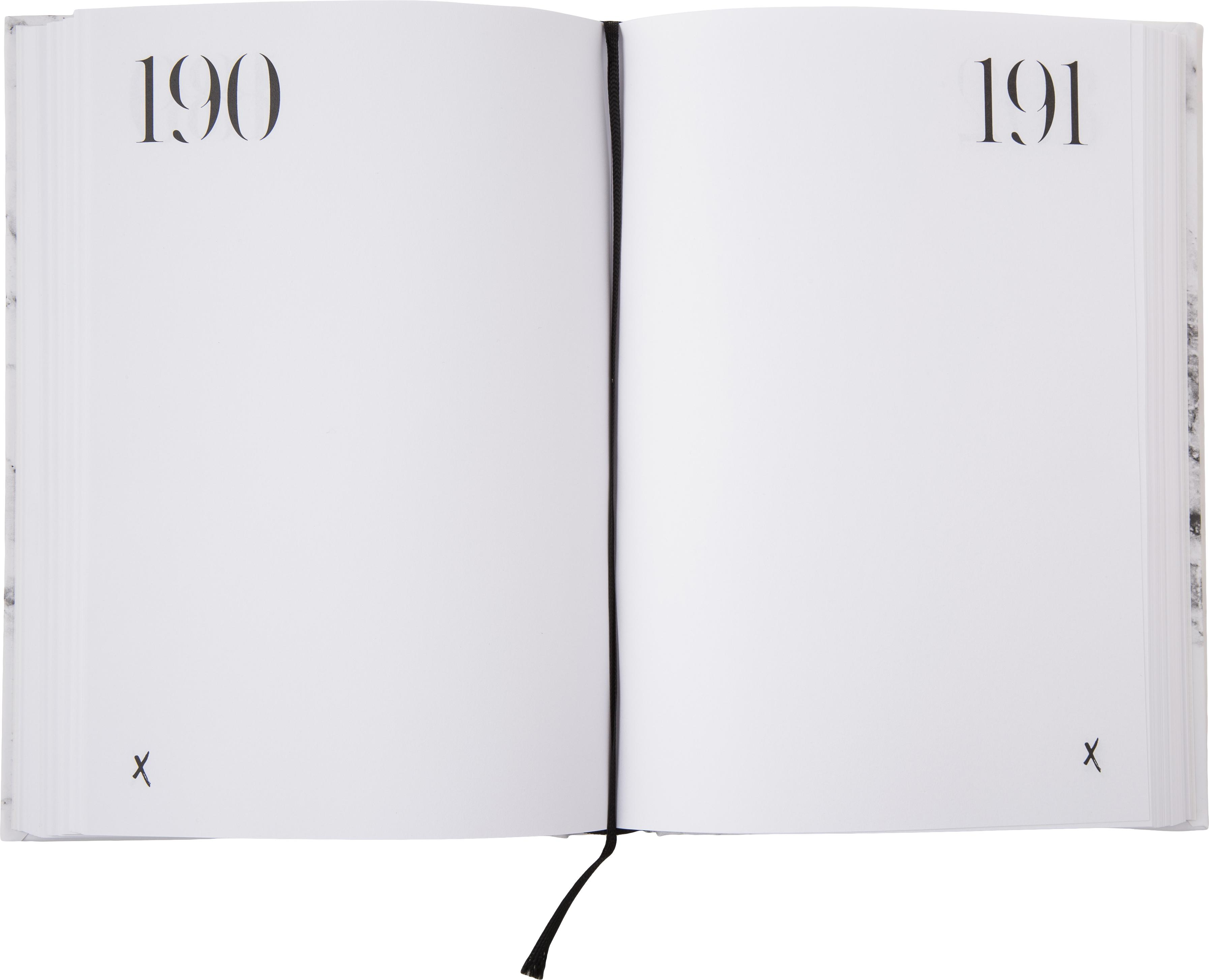 Notizbuch 365 of whatever you want, Papier, Weiß, Schwarz, 15 x 21 cm