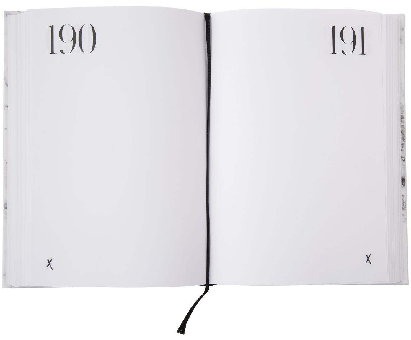 Notitieboek 365 of whatever you want, Papier, Wit, zwart, 15 x 21 cm