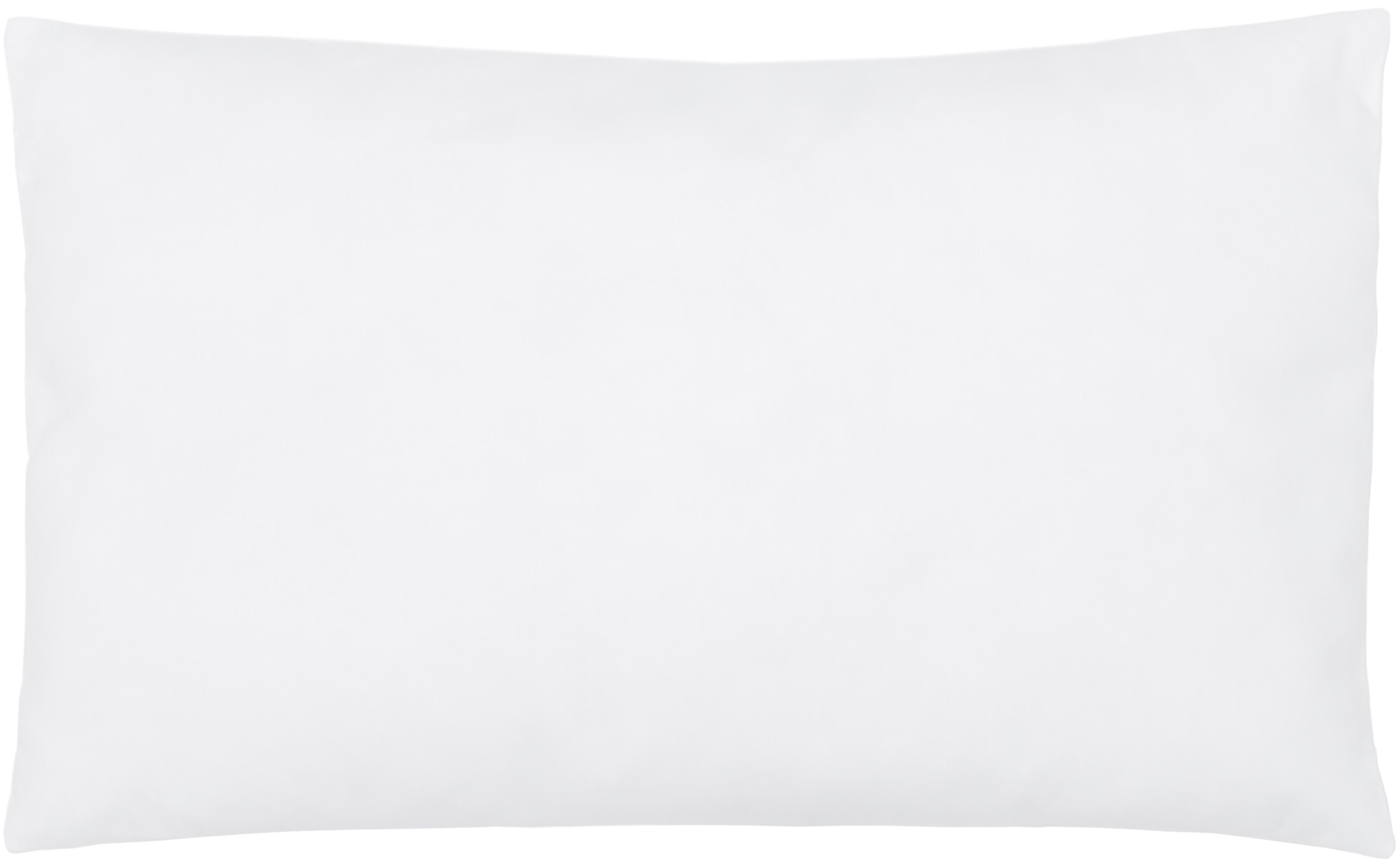 Relleno de cojín de microfibras Sia, 30x50, Funda: 100%algodón, Blanco, An 30 x L 50 cm