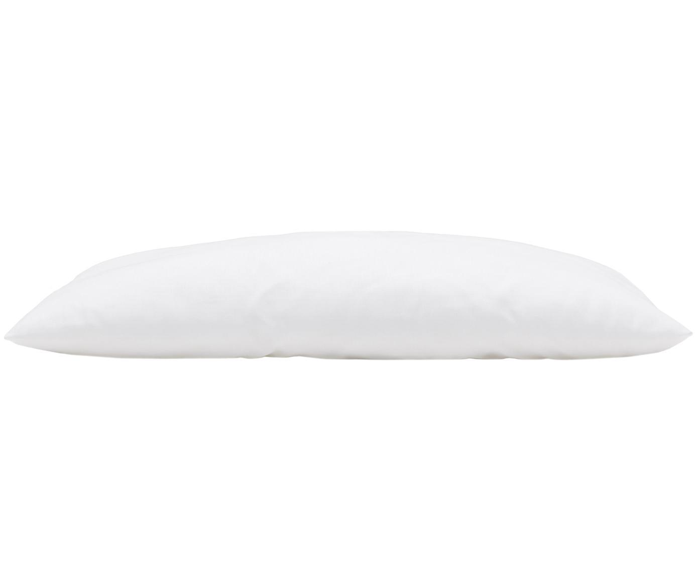 Wypełnienie poduszki z mikrofibry Sia, 30 x 50, Biały, S 30 x D 50 cm