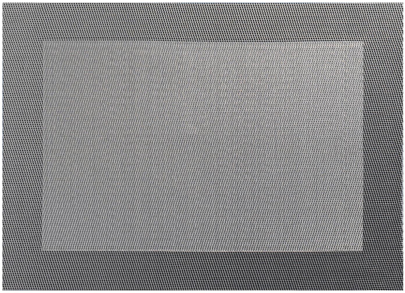 Manteles individuales de plástico Trefl, 2uds., Plástico (PVC), Gris, An 33 x L 46 cm