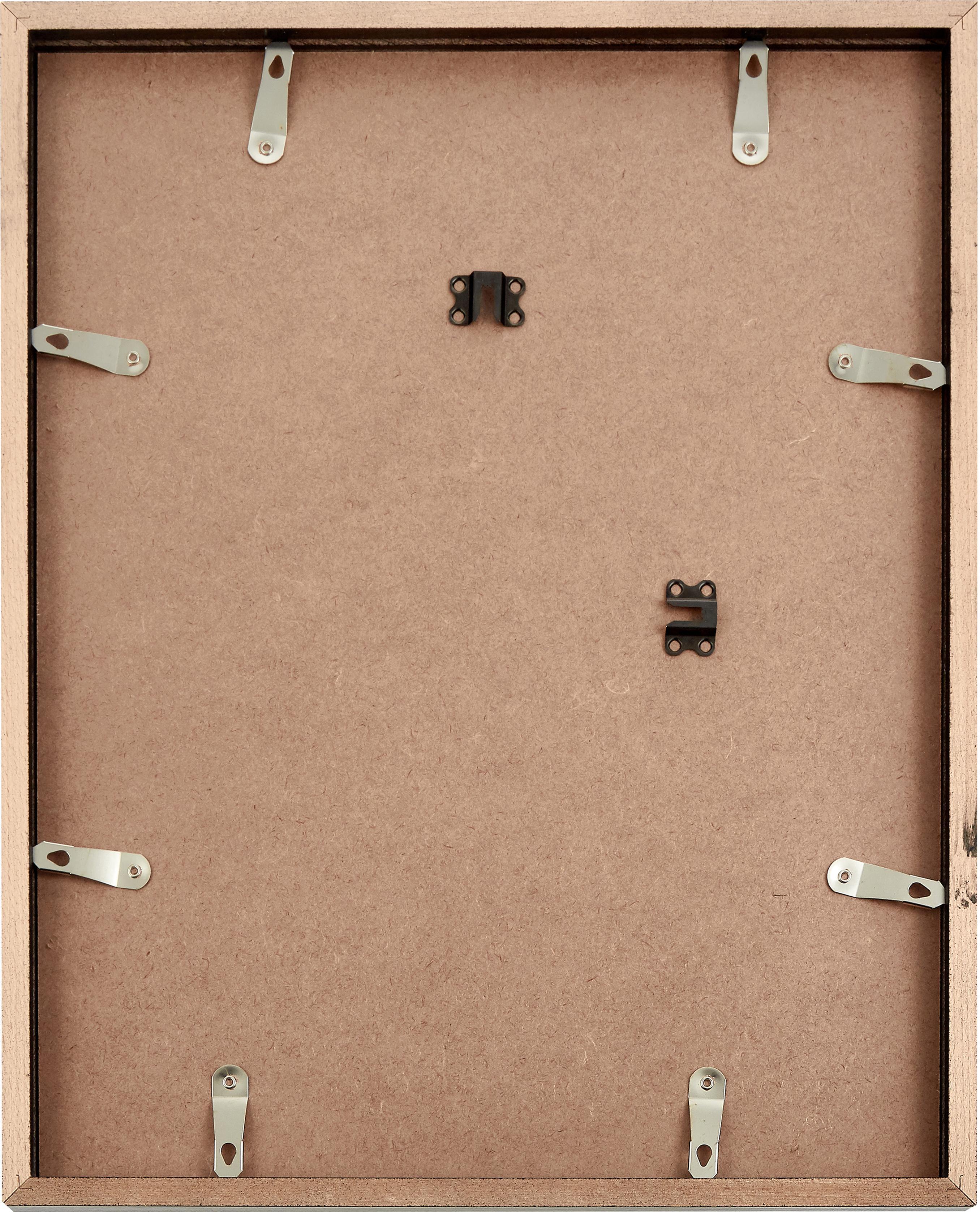 Ingelijste digitale print Breakfast at Tiffany's, Afbeelding: digitale print op papier,, Lijst: gelakt hout, Afbeelding: zwart, wit. Lijst: zwart, 33 x 43 cm