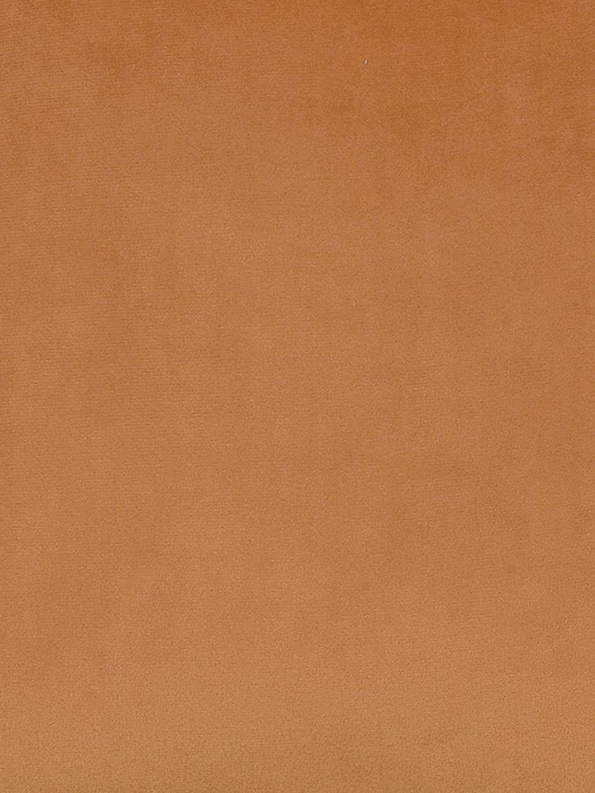 Kissen Fringes mit glänzenden Fransen, mit Inlett, Orange, 45 x 45 cm