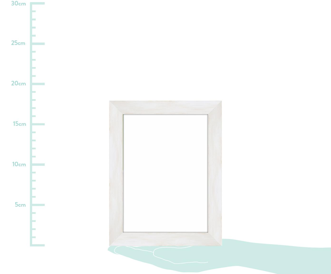Marco Magic, Parte trasera: Tablero de fibras de dens, Blanco, 18 x 24 cm