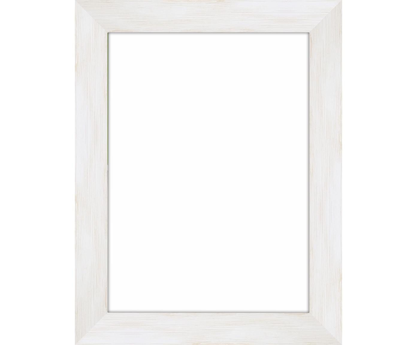 Cornice Magic, Cornice: legno di pino Monterey ve, Retro: Pannello di fibra a media, Bianco, 13 x 18 cm