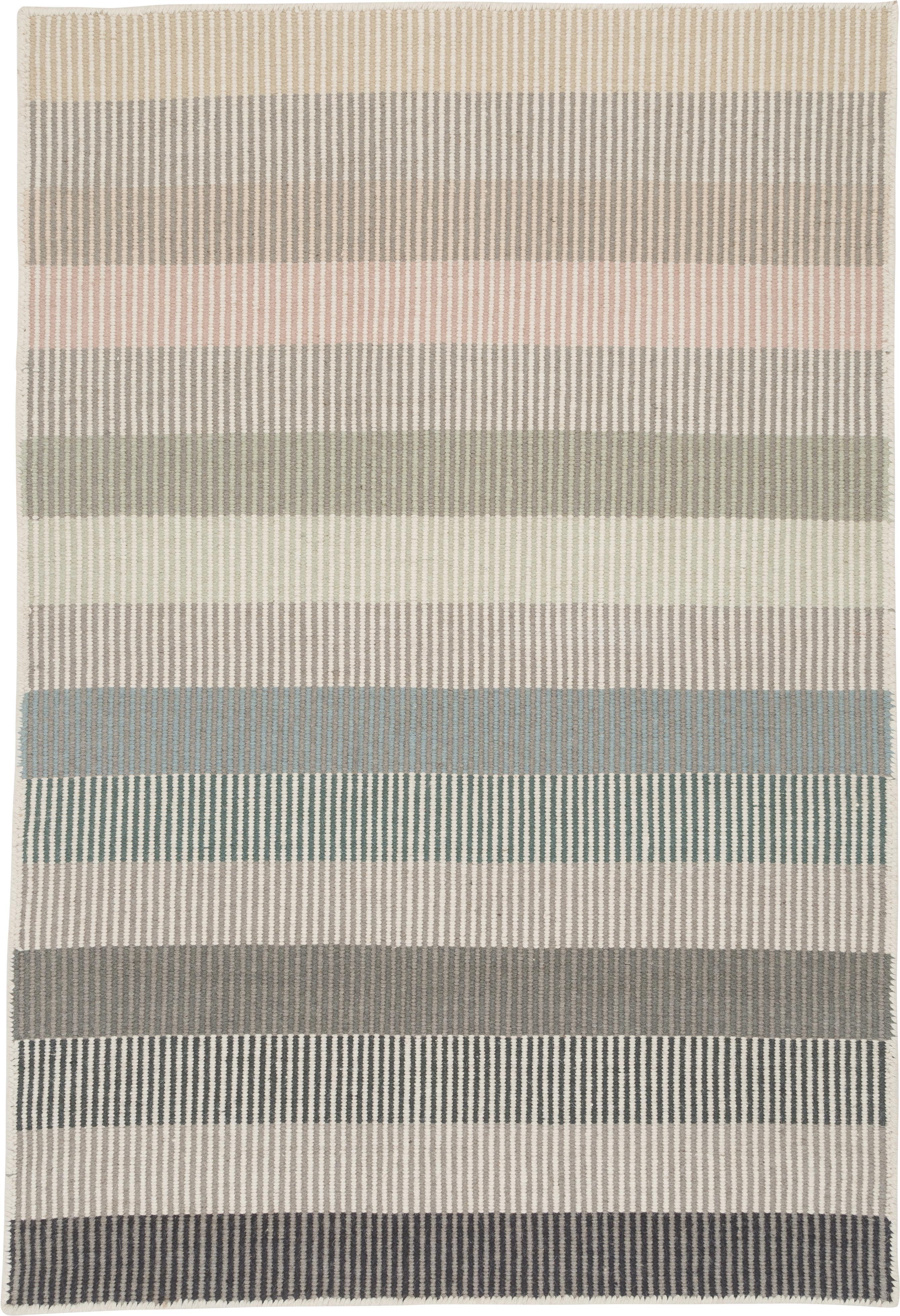 Alfombra artesanal de lana Devise, Multicolor, An 140 x L 200 cm (Tamaño S)