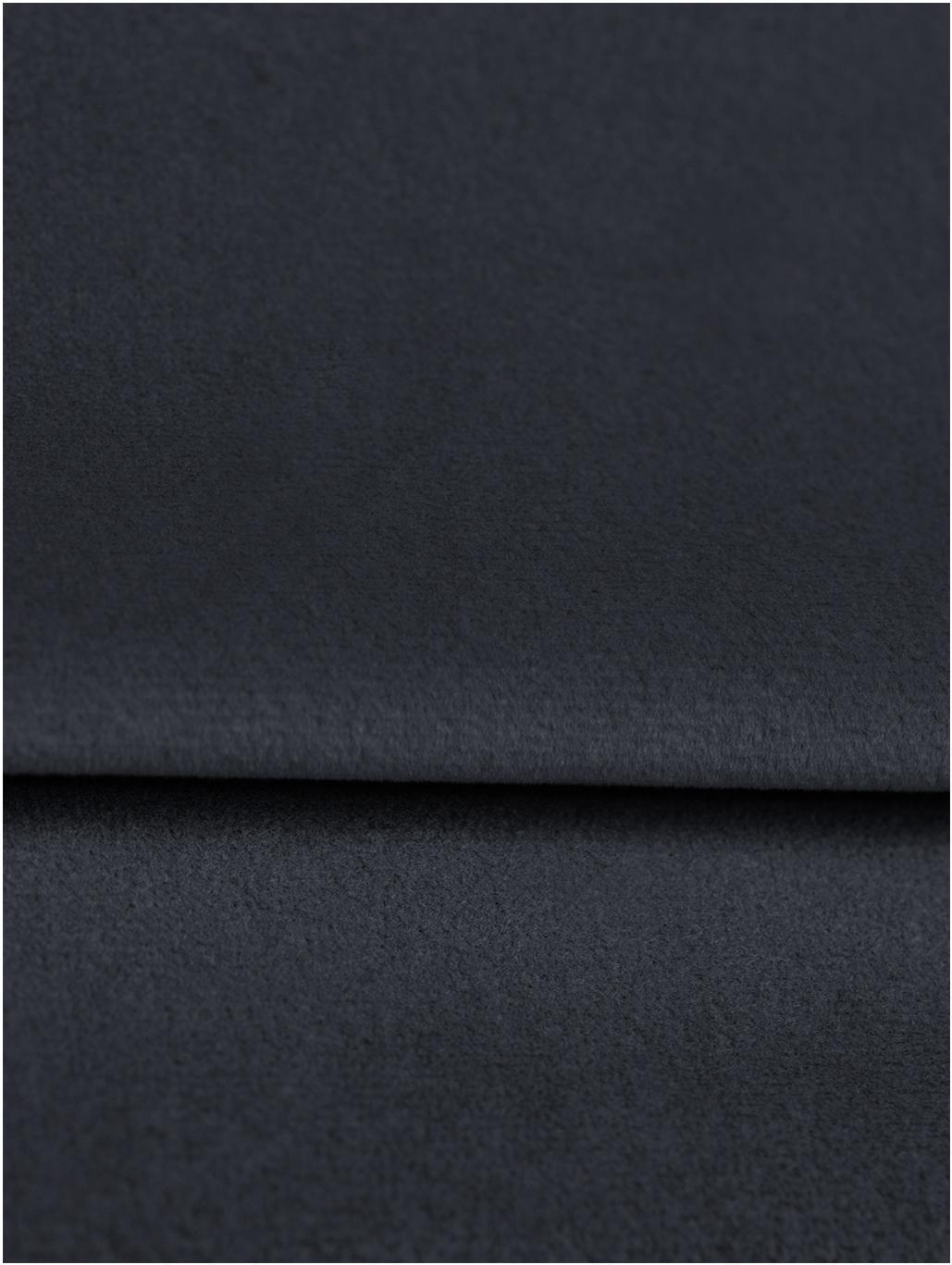 Samt-Schlafsofa Gia (3-Sitzer), Bezug: Polyestersamt Der strapaz, Rahmen: Massives Kiefernholz, Korpus: Spanplatte, Sperrholz, Sp, Füße: Buchenholz, lackiert, Samt Blau, B 212 x T 93 cm