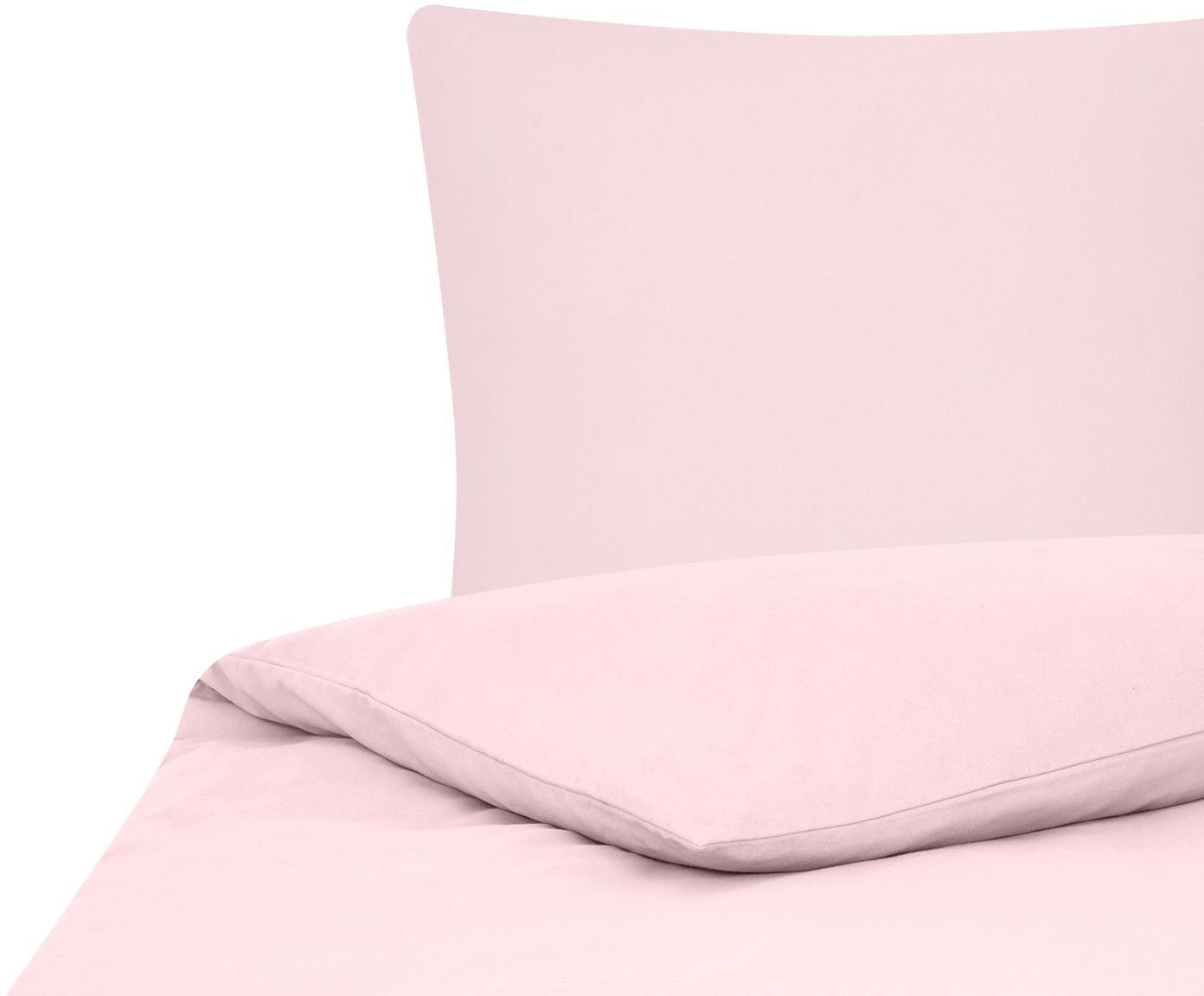 Flanell-Bettwäsche Biba in Rosa, Webart: Flanell Flanell ist ein s, Rosa, 135 x 200 cm