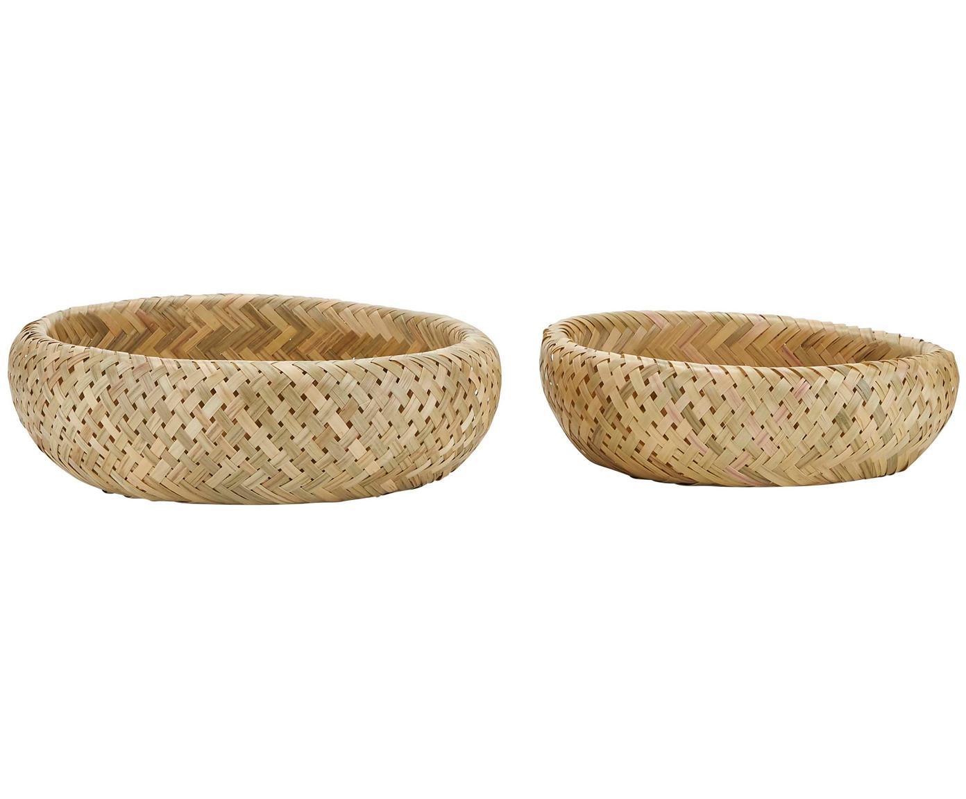 Set 2 cestini per pane in bambù Limba, Bambù, Bambù, Diverse dimensioni