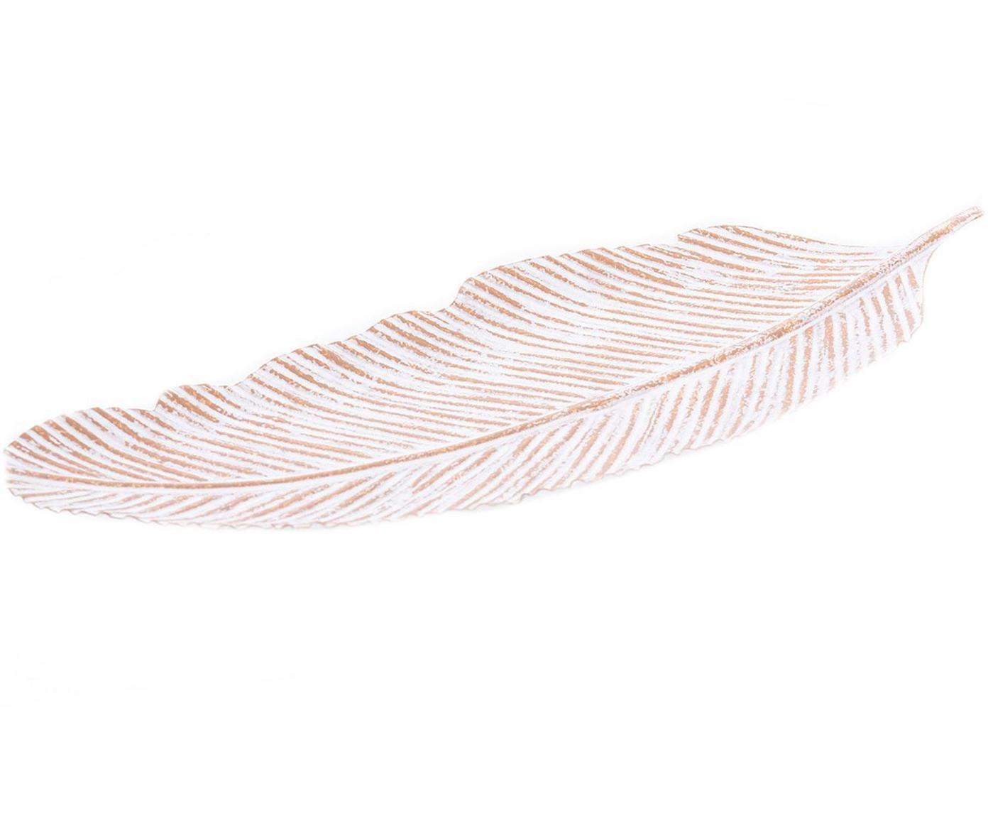 Fuente decorativo Maldino, Metal, Blanco, An 40 x Al 14 cm