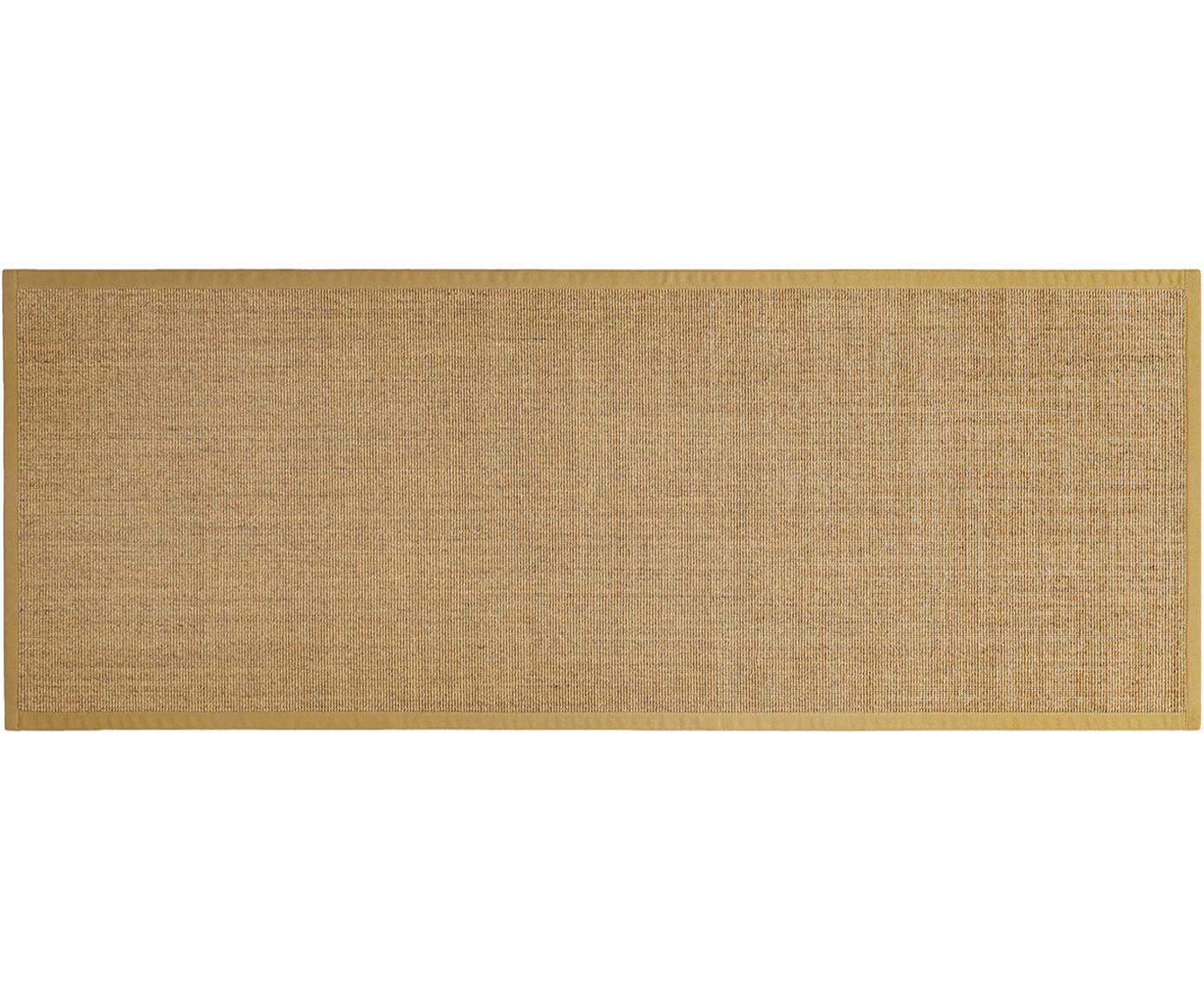 Alfombra Leonie, Fibra de sisal, Beige, An 80 x L 200 cm