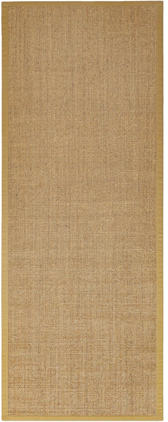 Passatoia in sisal Leonie, Fibra di sisal, Beige, Larg. 80 x Lung. 200 cm