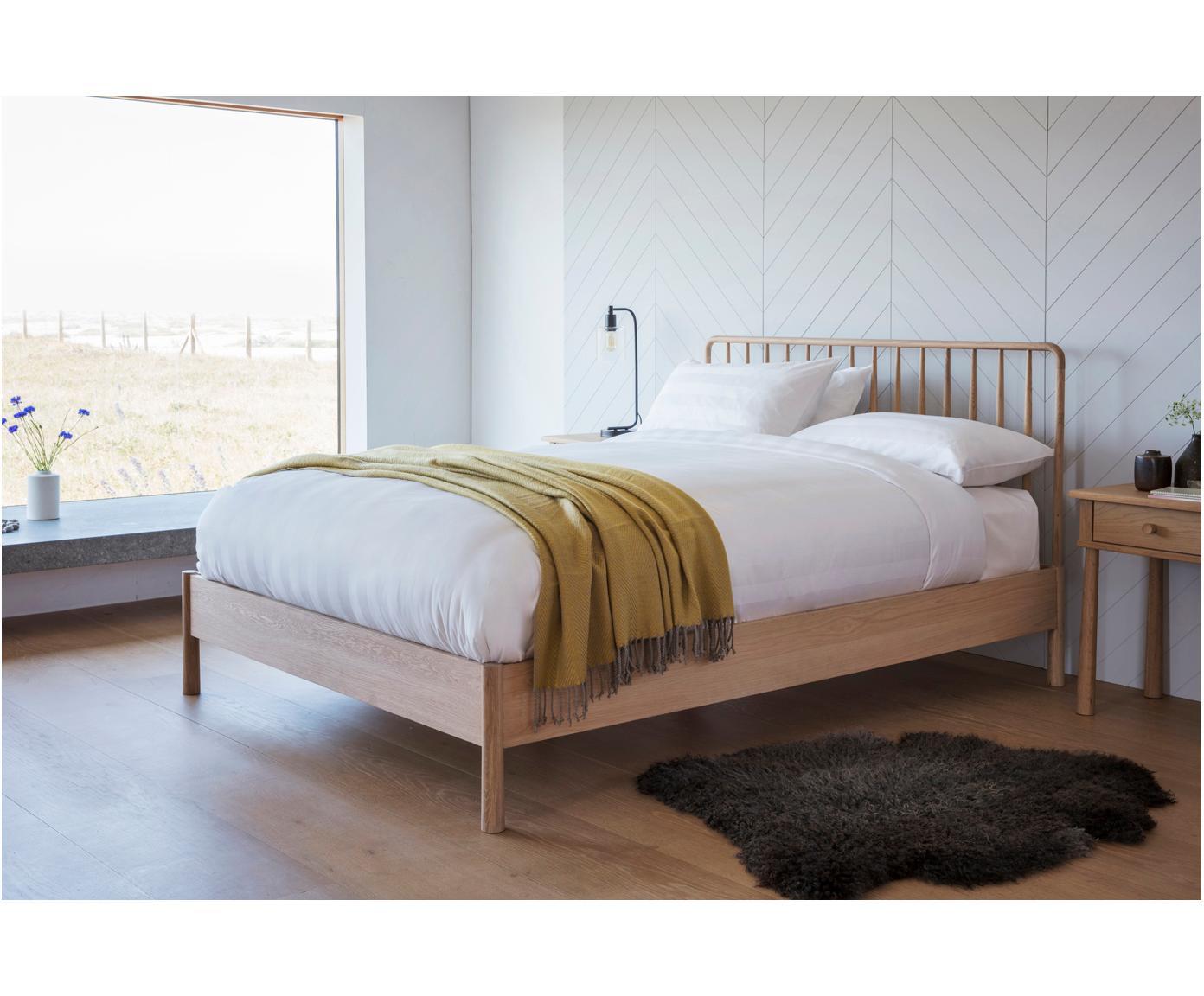 Bett Wycombe aus Eichenholz