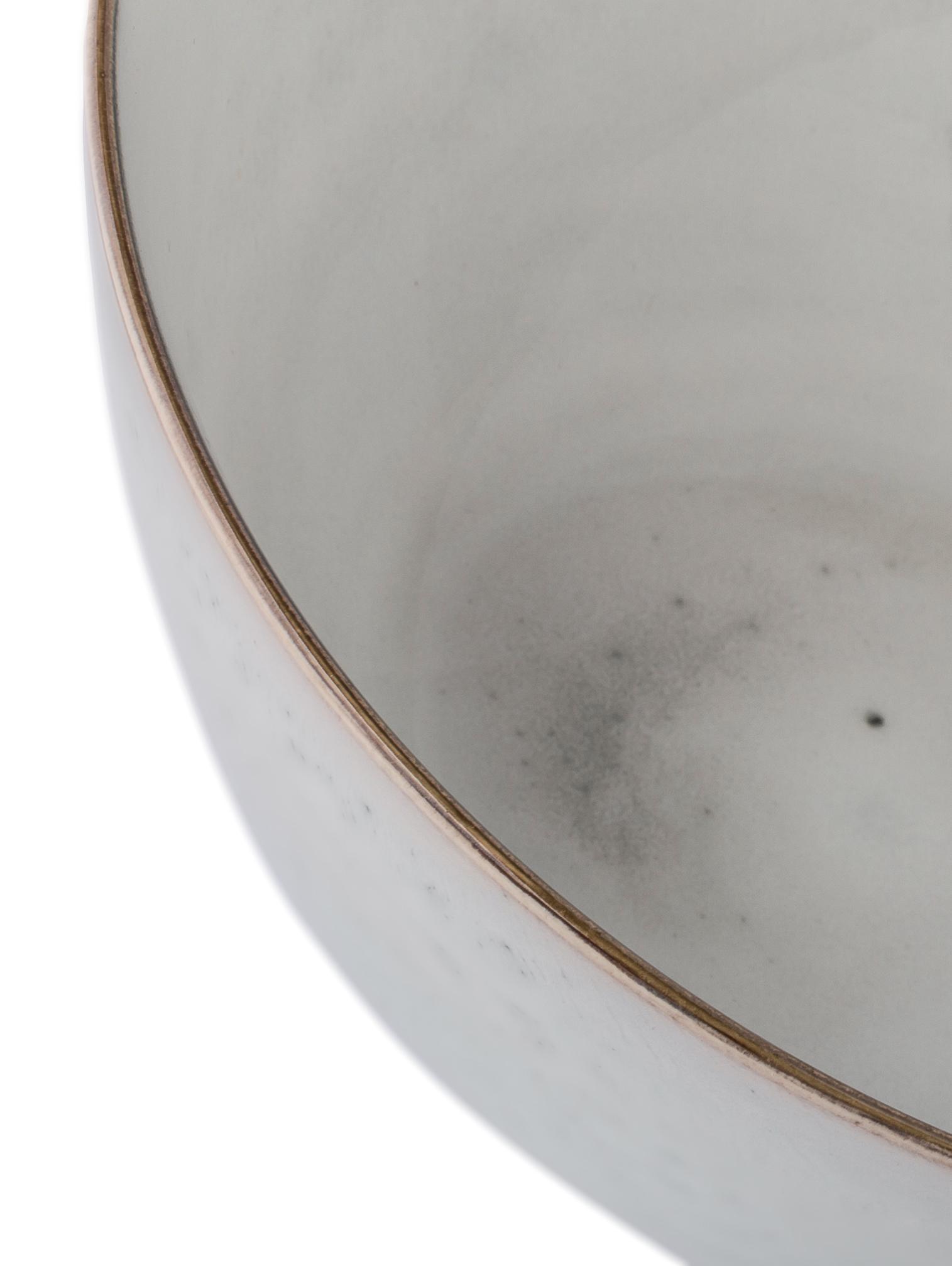 Ciotola da portata fatta a mano Nordic Sand, Terracotta, Sabbia, Ø 25 x Alt. 11 cm