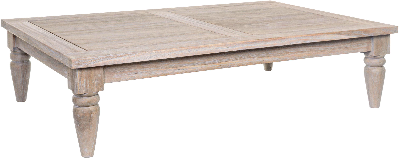 Stolik kawowy z drewna tekowego Bali, Drewno tekowe, Drewno tekowe, S 120 x W 30 cm