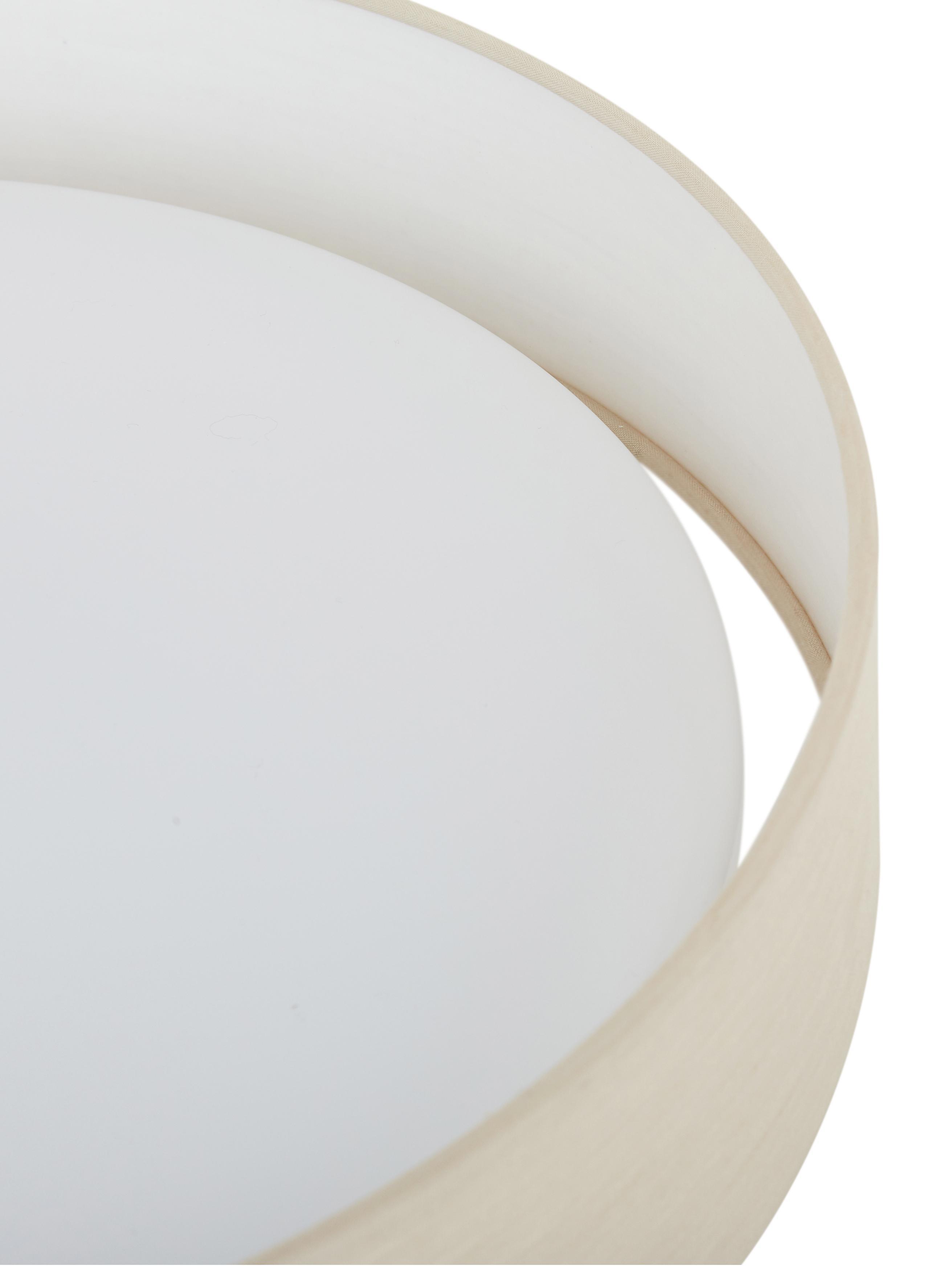 Lampa sufitowa LED Helen, Taupe, Ø 35 x W 7 cm
