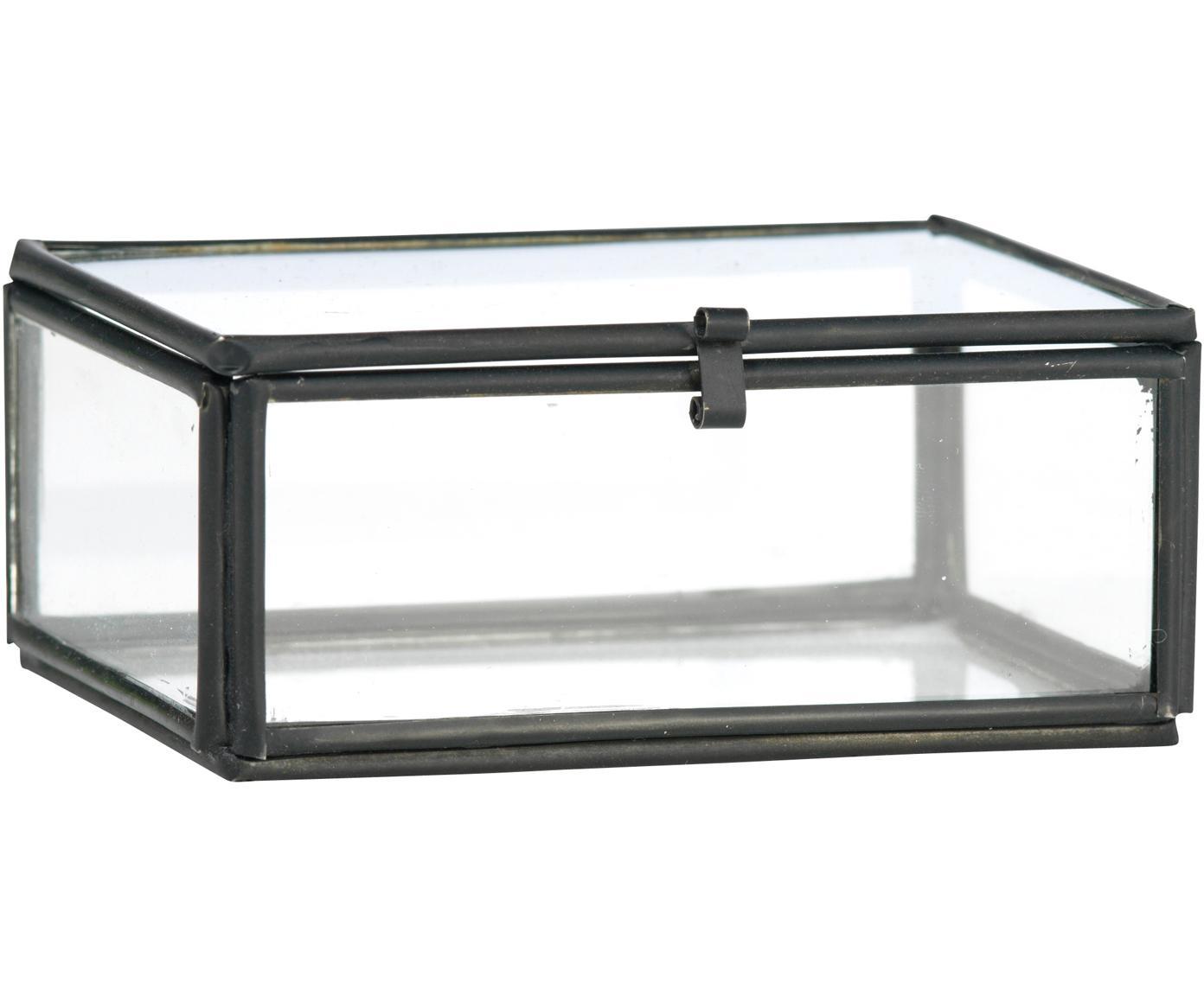 Pudełko do przechowywania Ivey, Czarny, S 9 x W 4 cm