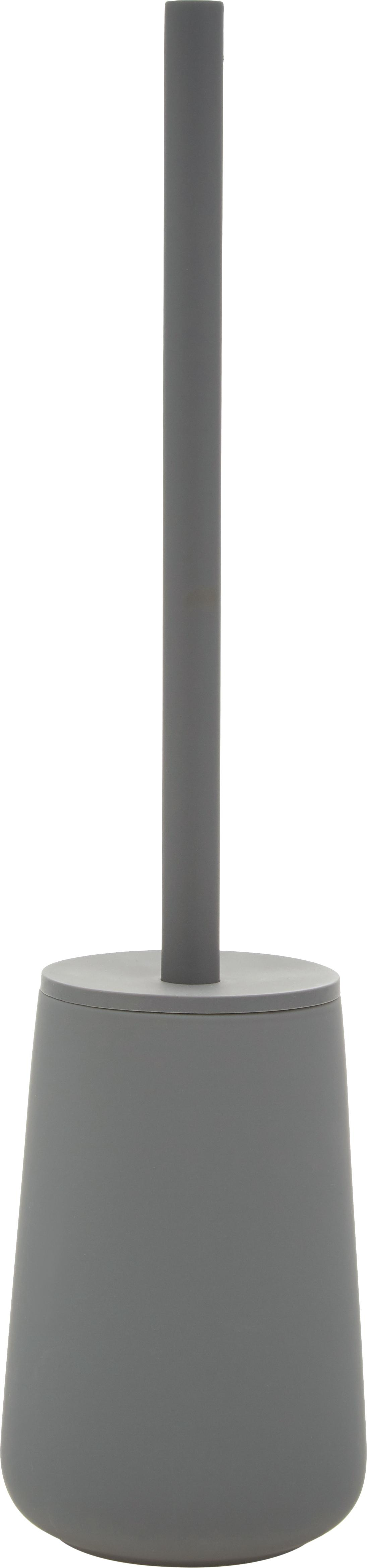 Escobilla de baño Nova One, Recipiente: porcelana, Gris, Ø 10 x Al 43 cm