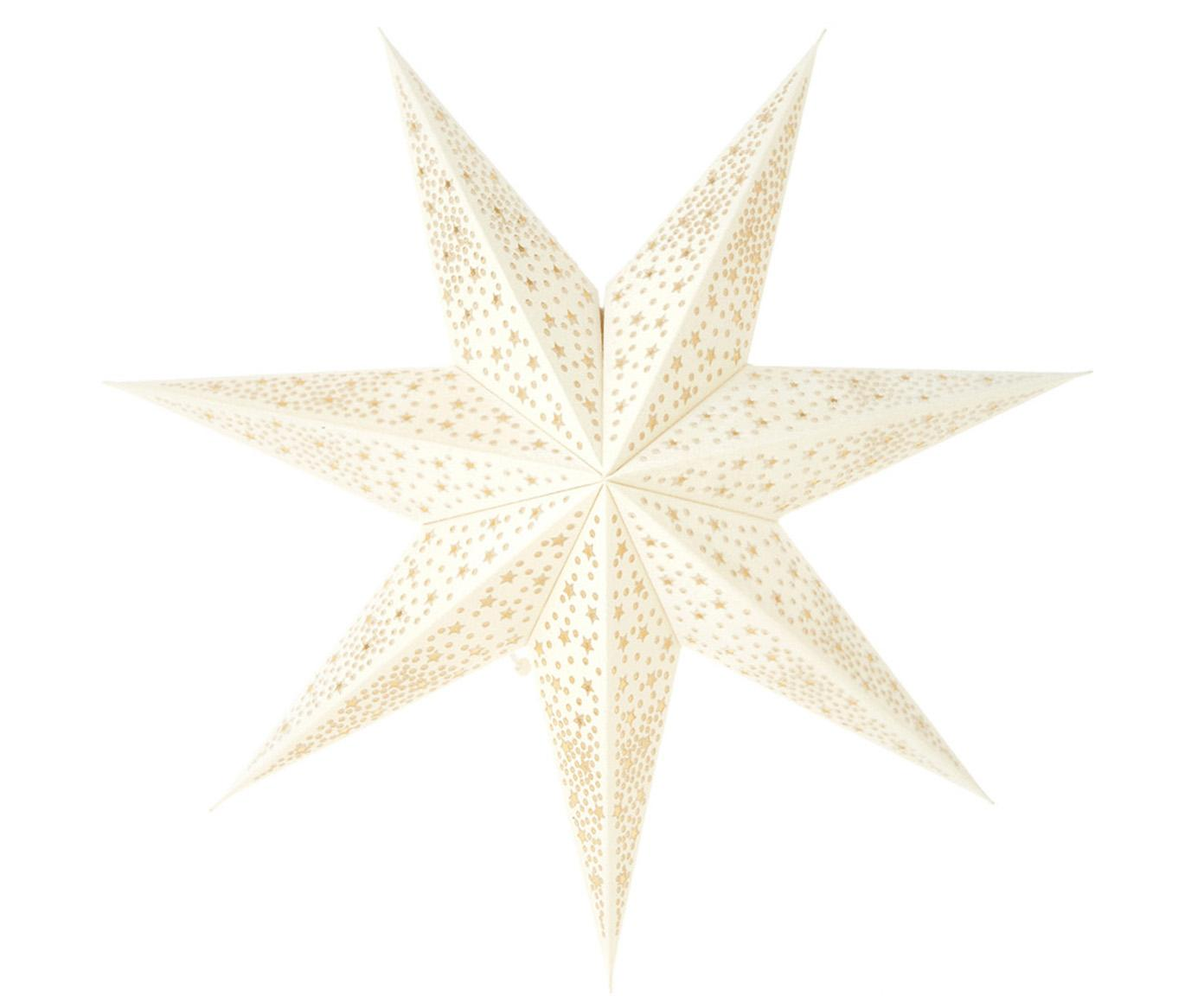 Stella natalizia Orby, Carta, Bianco, Ø 45 cm