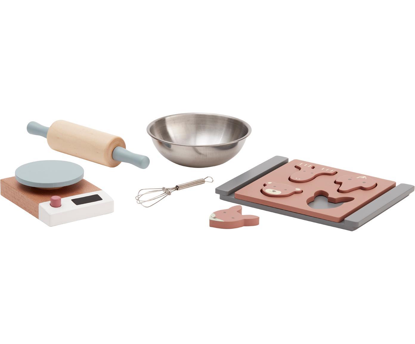 Spielzeug-Set Bakes, Holz, Mehrfarbig, 14 x 19 cm