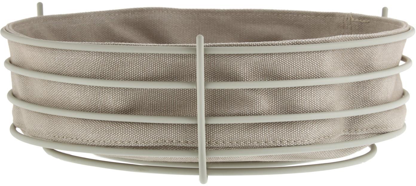 Panera Gola, bolsa extraíble, Funda: algodón, Beige, Ø 26 x Al 8 cm