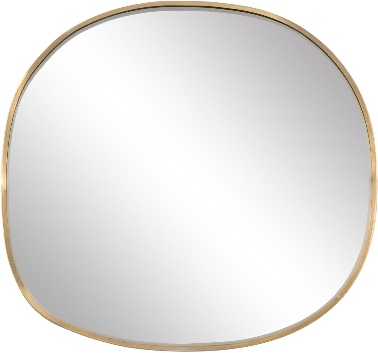 Espejo de pared Daily Pretty, Espejo: cristal, Latón, An 27 x Al 25 cm