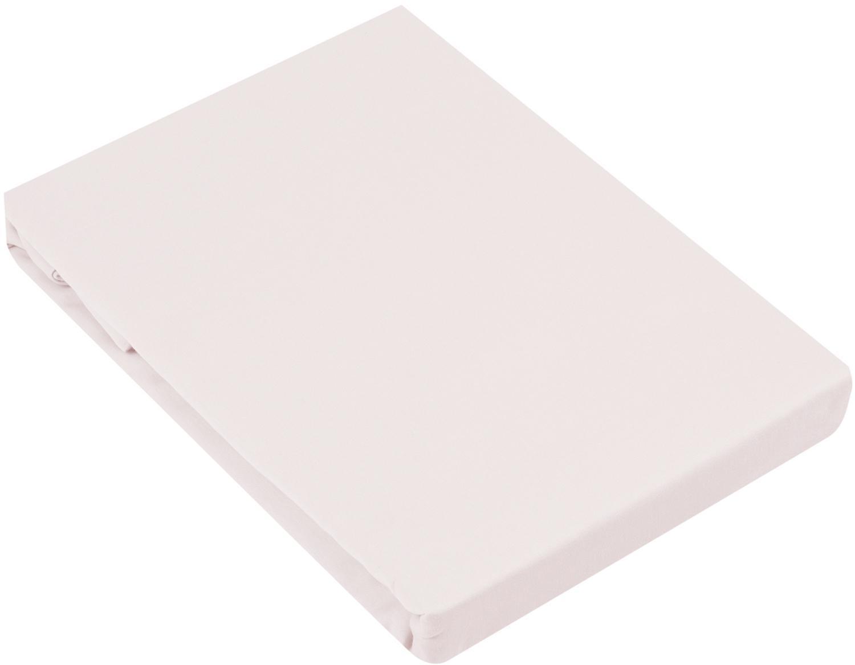 Spannbettlaken Comfort, Baumwollsatin, Webart: Satin, leicht glänzend, Rosa, 180 x 200 cm