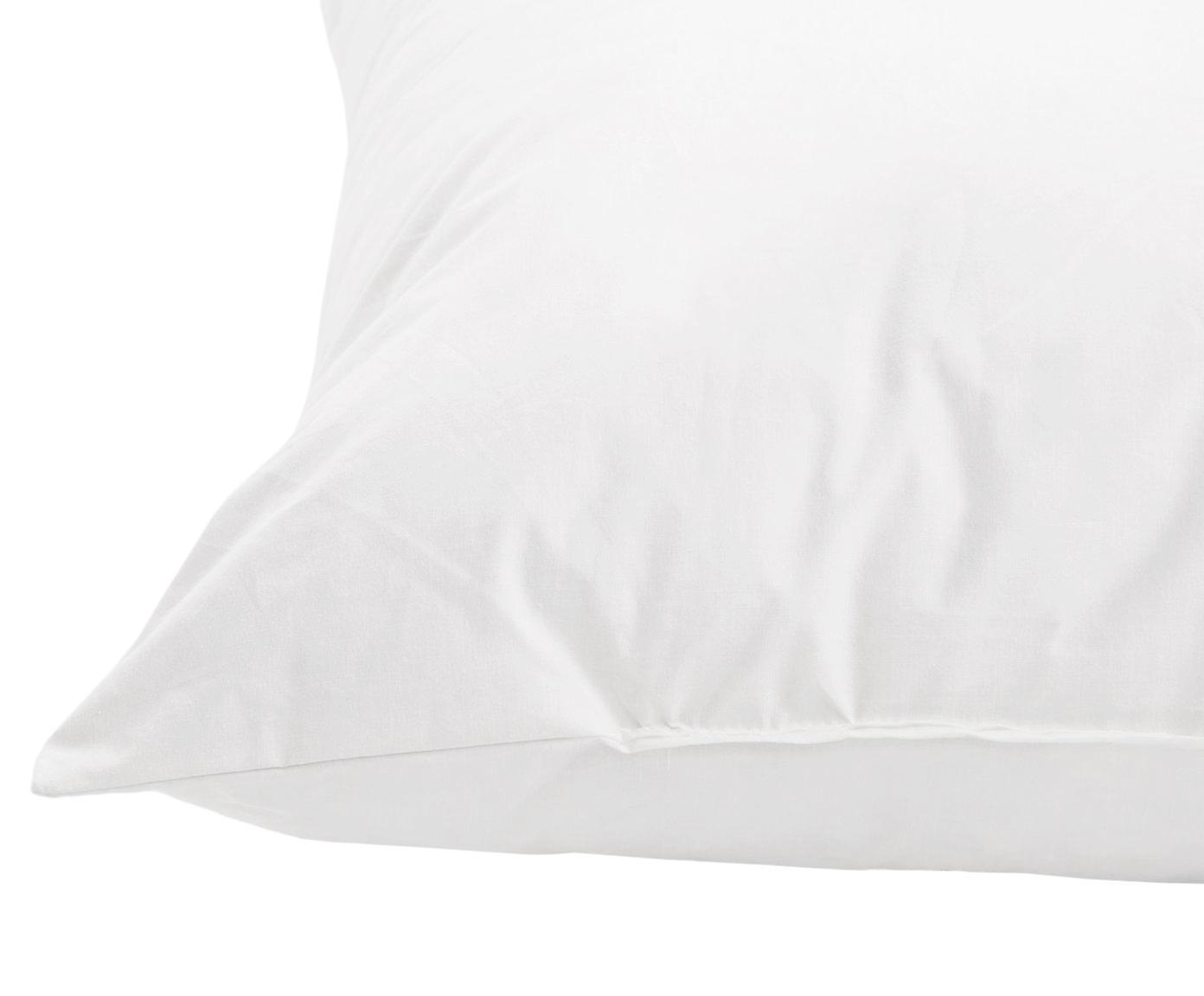 Kissen-Inlett Comfort, 60x60, Feder-Füllung, Weiß, 60 x 60 cm