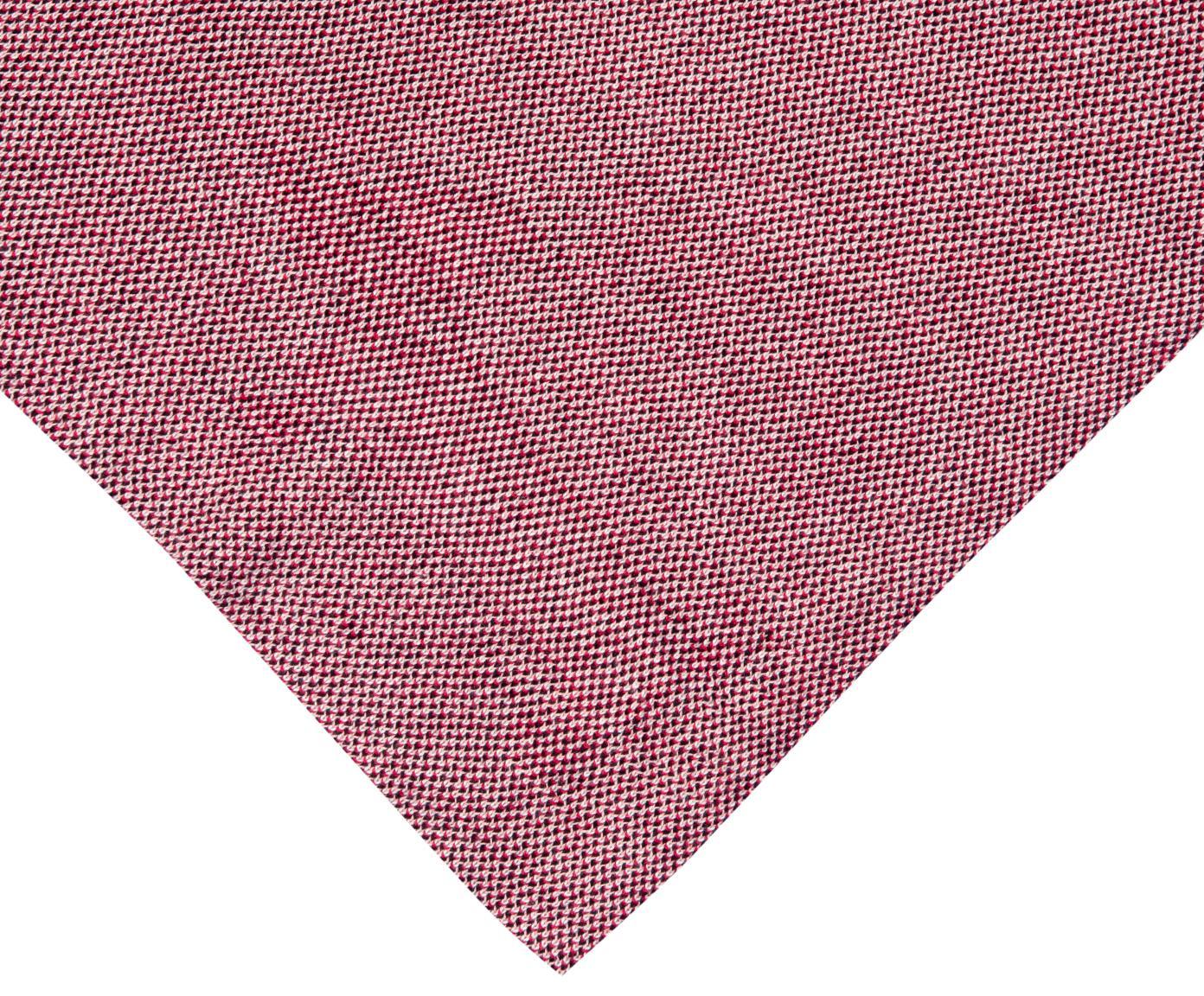 Weihachtliches Wendeplaid Santas Little Helper, 100% Baumwolle, Vorderseite: MehrfarbigRückseite: Rot, 150 x 200 cm